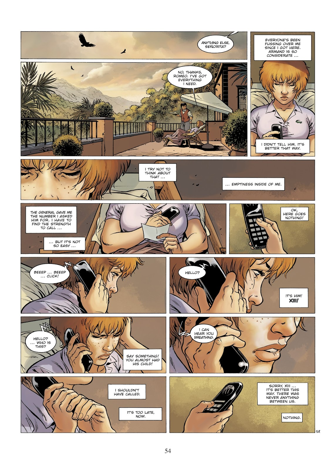 XIII Mystery issue 7 - Page 56