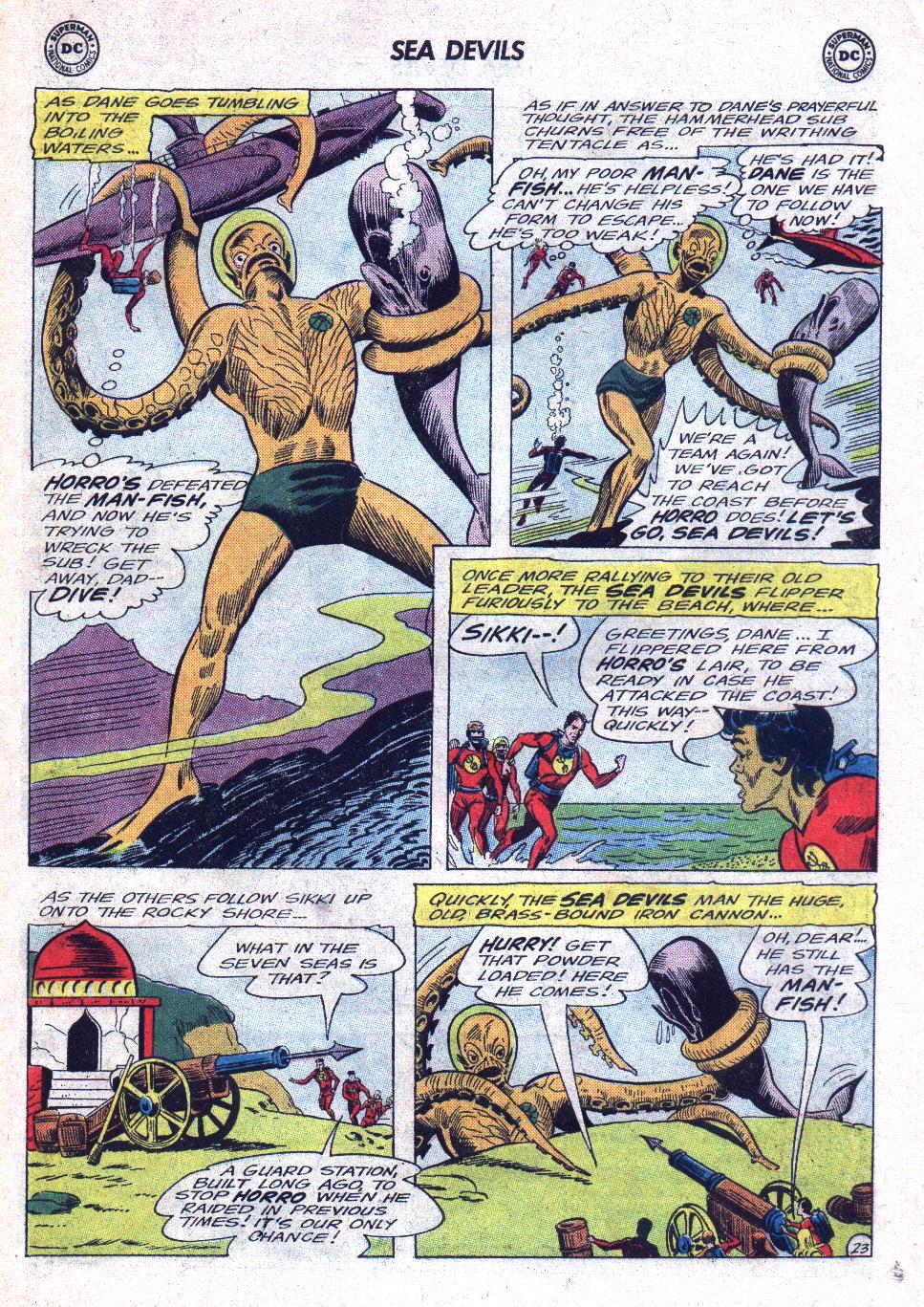 Read online Sea Devils comic -  Issue #22 - 31