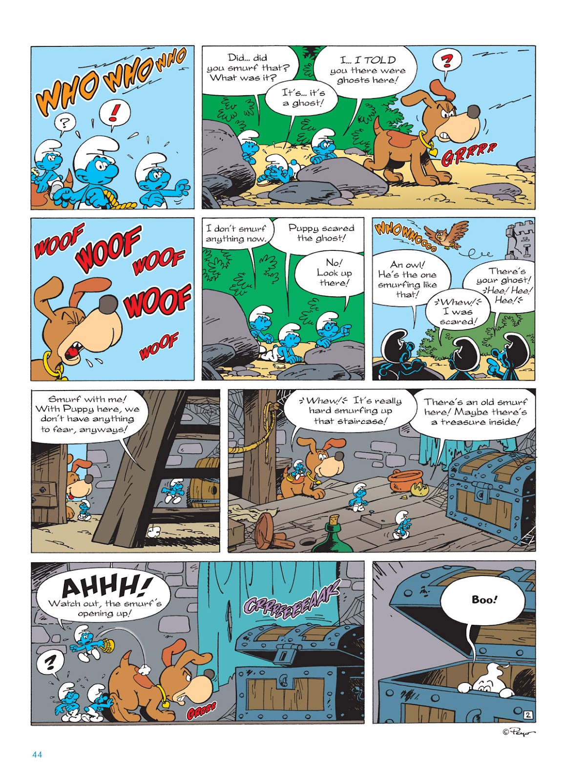 Read online The Smurfs comic -  Issue #9 - 44