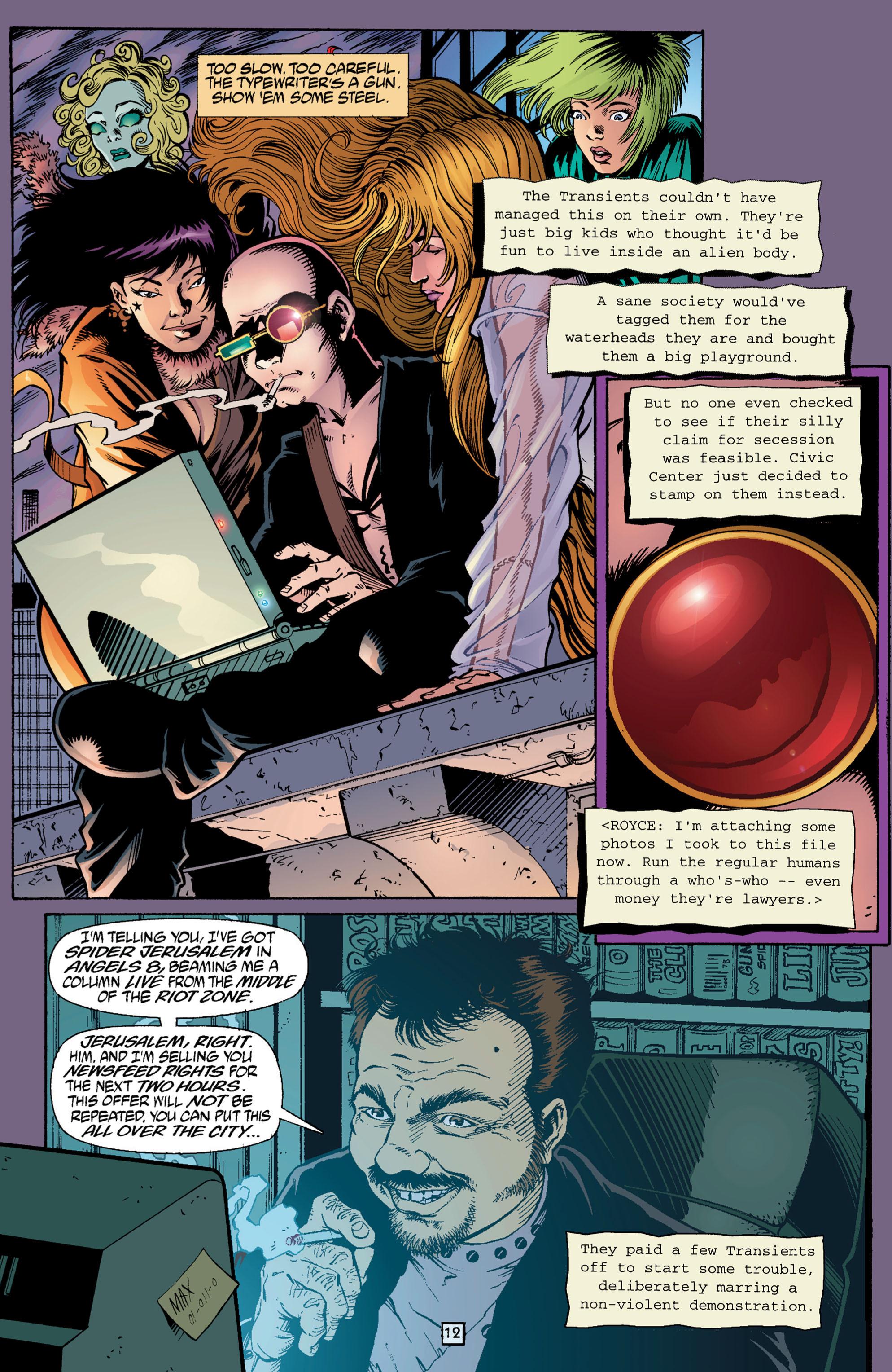 Read online Transmetropolitan comic -  Issue #3 - 12