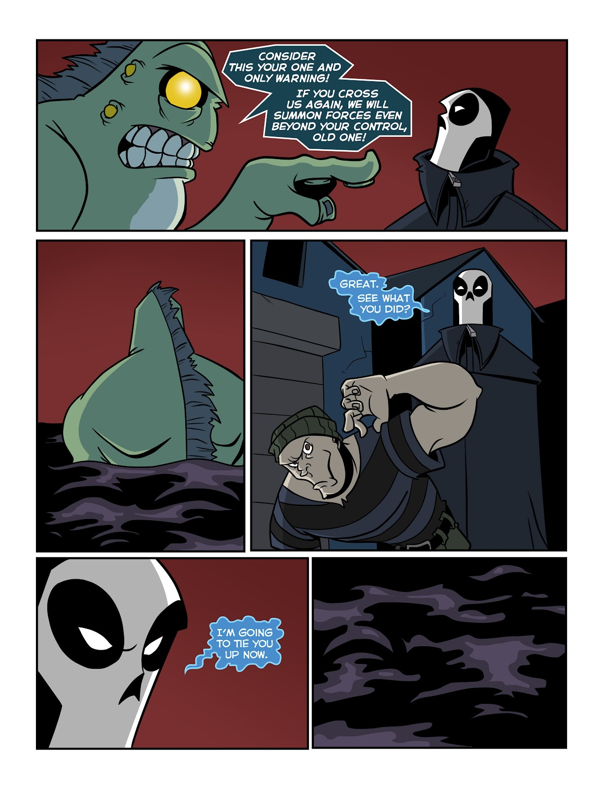 Read online The Haunter comic -  Issue #2 - 15