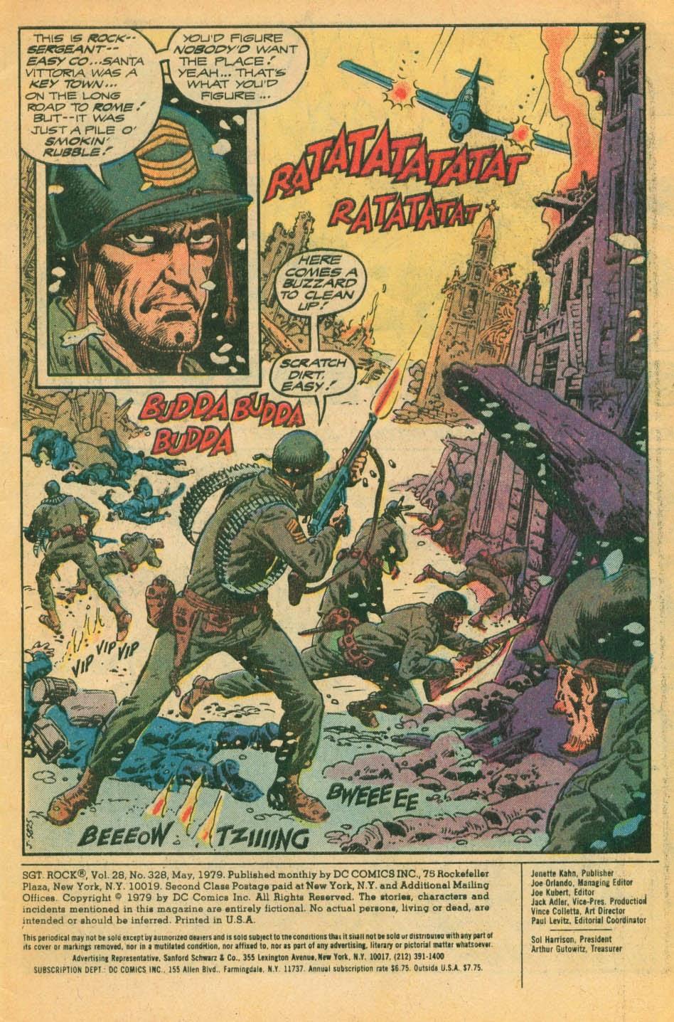 Read online Sgt. Rock comic -  Issue #328 - 2