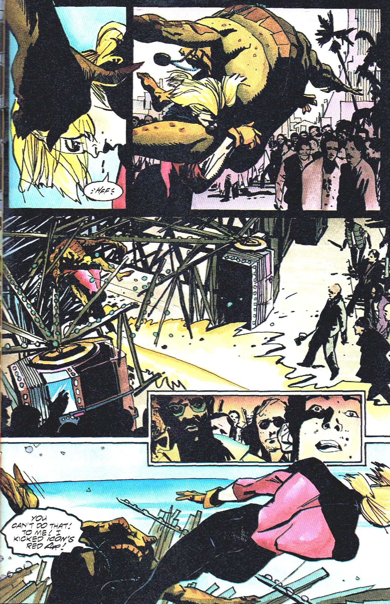 Read online Shadow Cabinet comic -  Issue #16 - 25