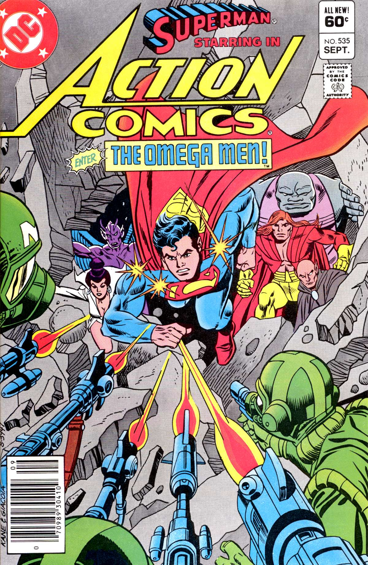 Read online Action Comics (1938) comic -  Issue #535 - 1