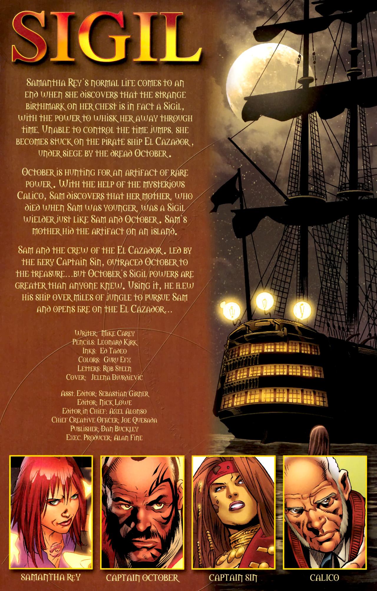 Read online Sigil (2011) comic -  Issue #4 - 2