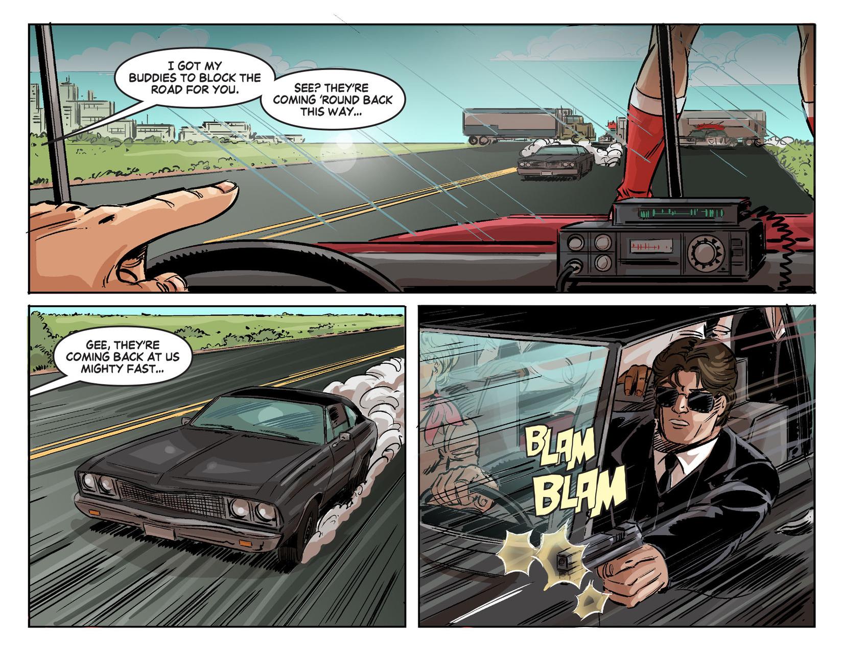 Read online Wonder Woman '77 [I] comic -  Issue #24 - 9