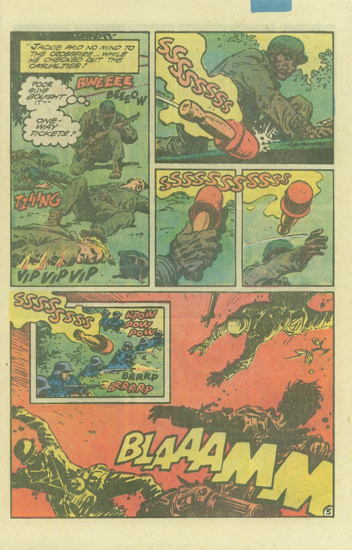 Read online Sgt. Rock comic -  Issue #386 - 5
