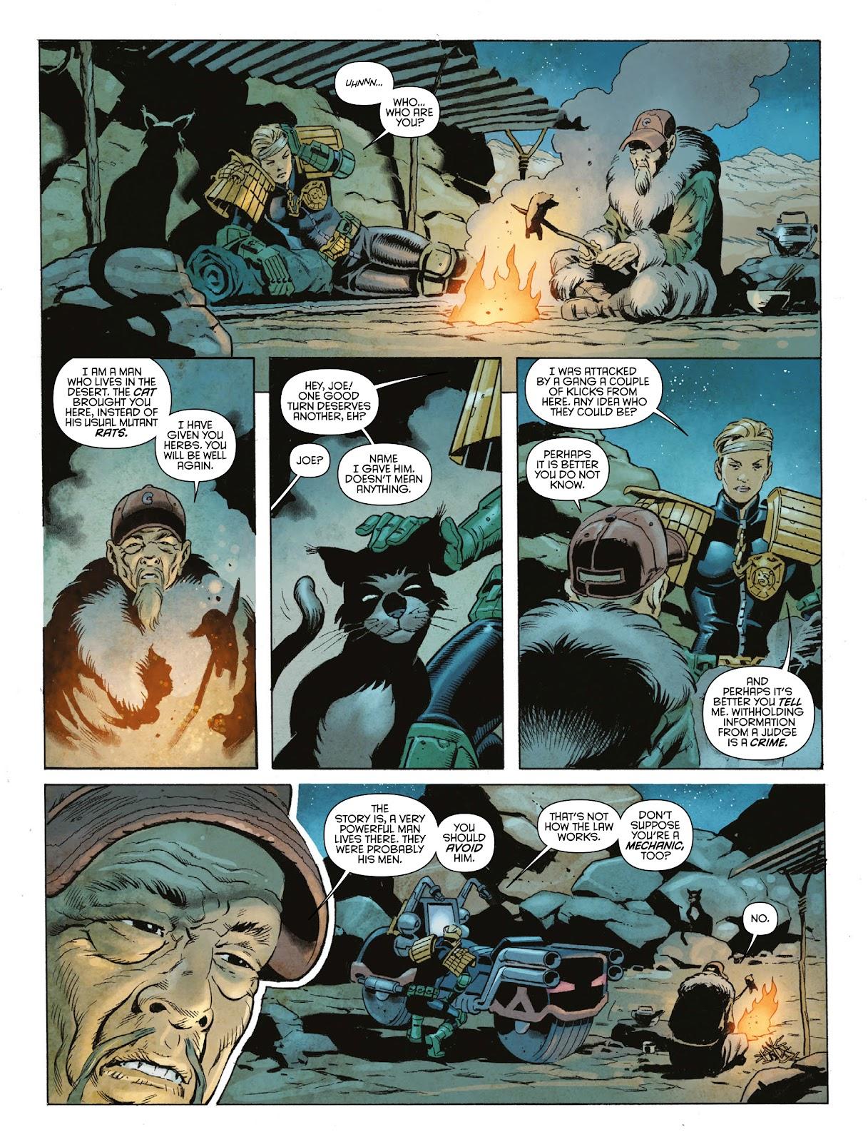 Judge Dredd Megazine (Vol. 5) Issue #381 #180 - English 45