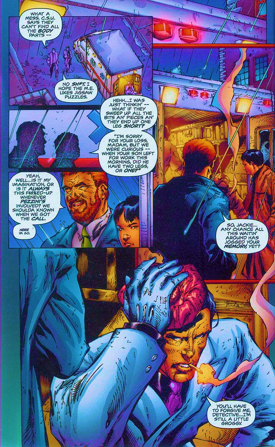 Read online Overkill: Witchblade/Aliens/Darkness/Predator comic -  Issue #2 - 6