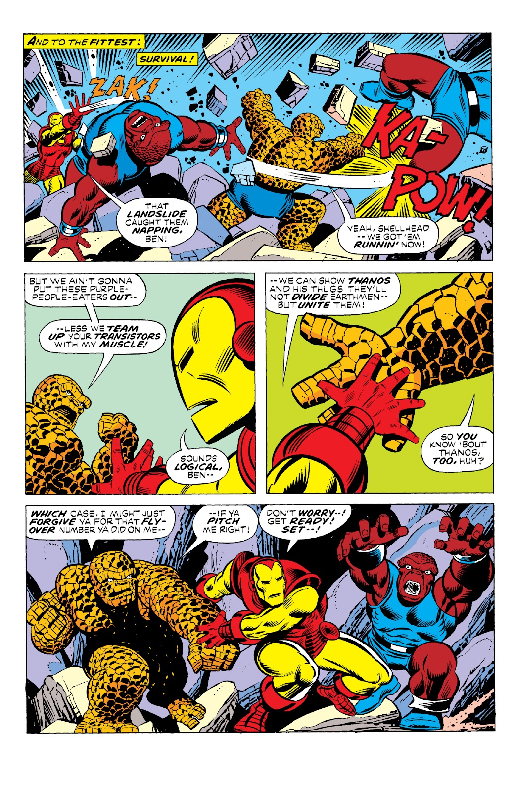 Read online Marvel Two-In-One Epic Collection: Cry Monster comic -  Issue # TPB (Part 1) - 42