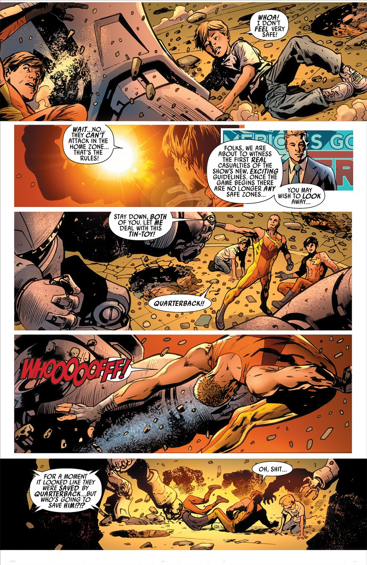 Read online America's Got Powers comic -  Issue #2 - 29
