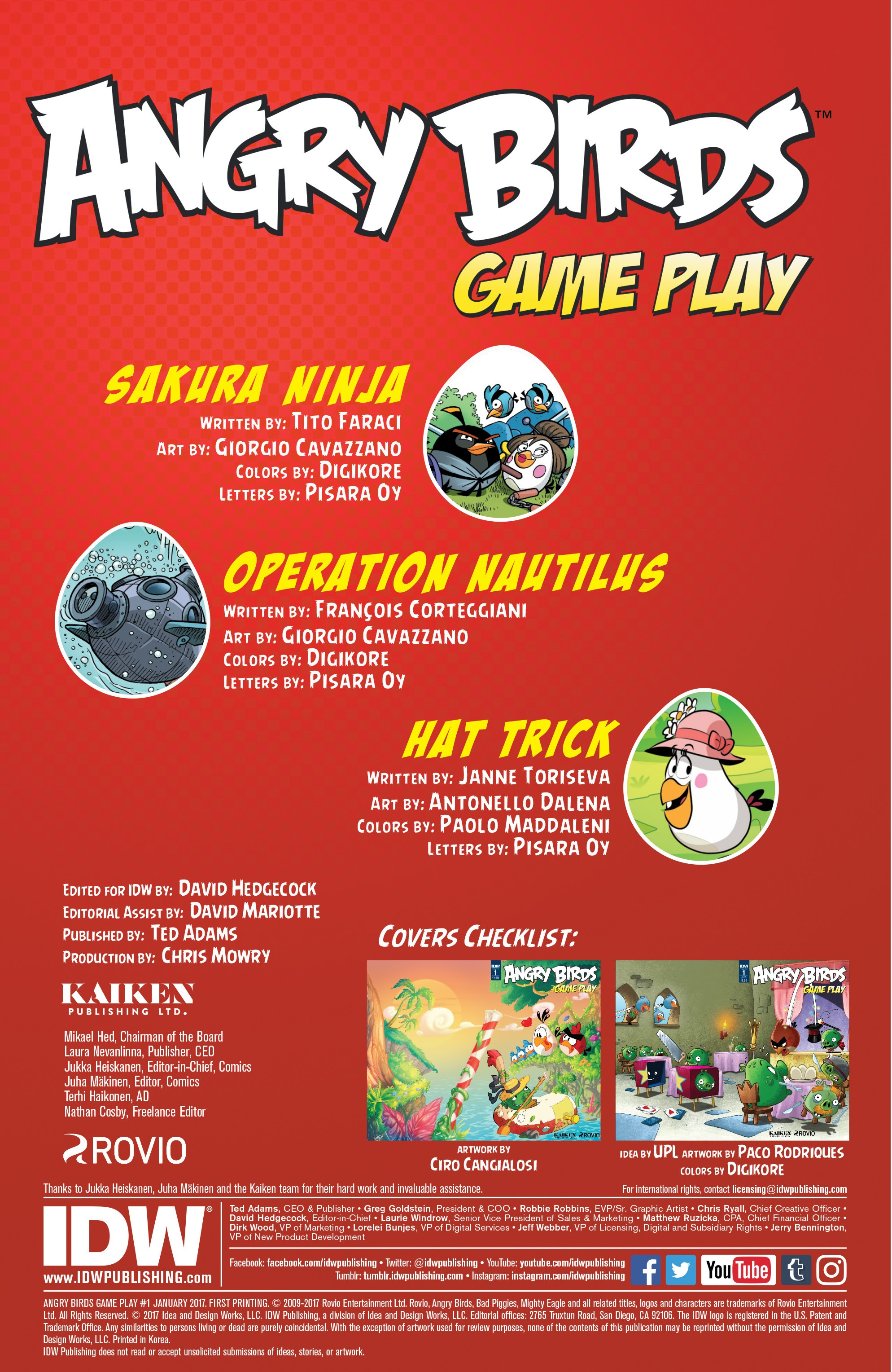 Read online Angry Birds Comics: Game Play comic -  Issue #1 - 2