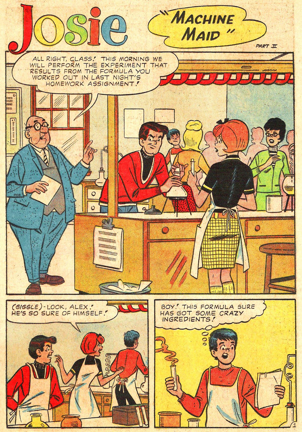 Read online She's Josie comic -  Issue #18 - 29
