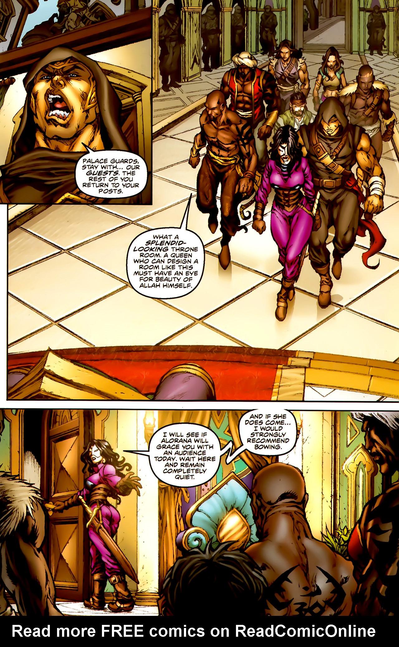 Read online 1001 Arabian Nights: The Adventures of Sinbad comic -  Issue #1 - 16