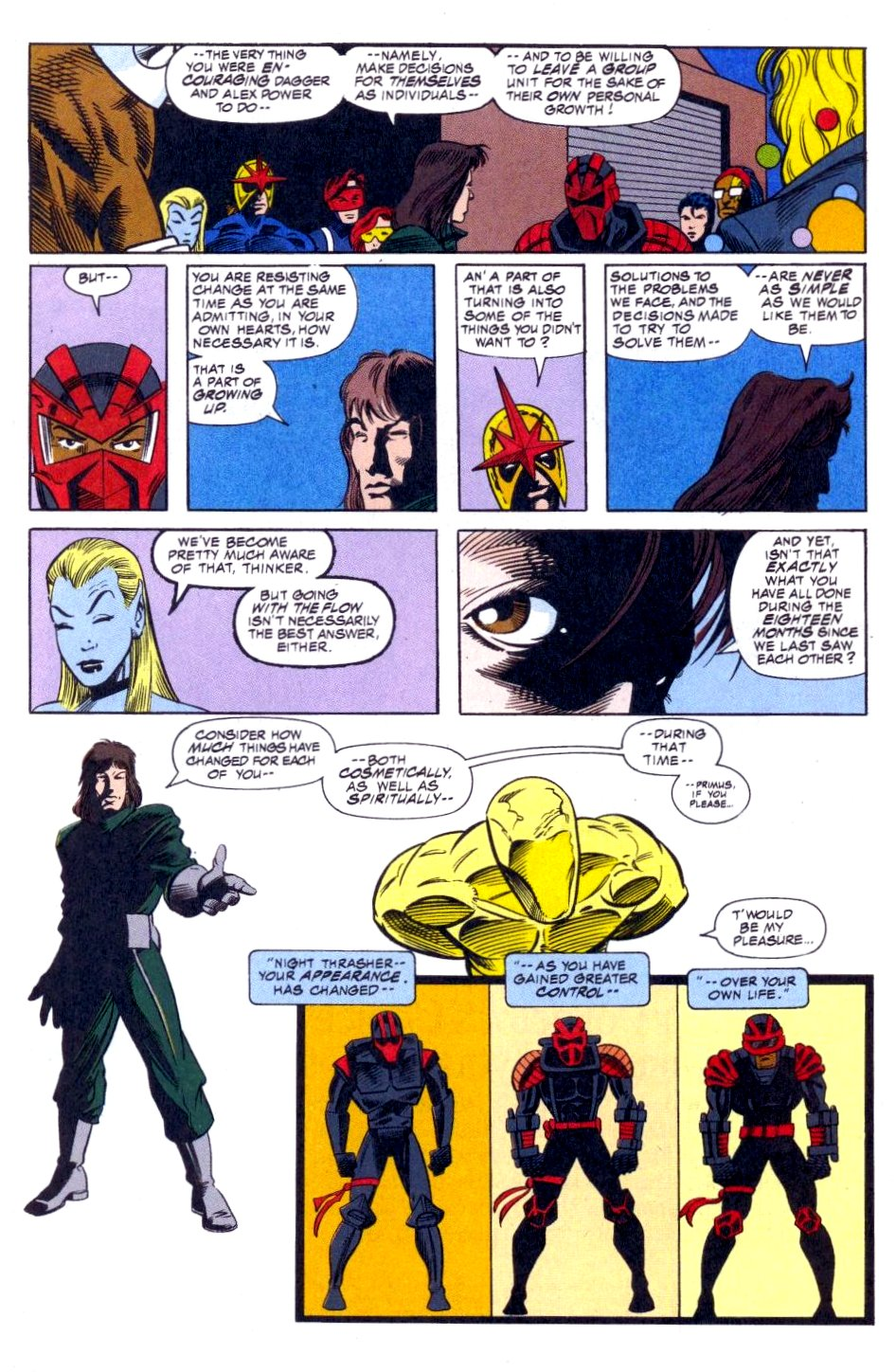 The New Warriors Issue #51 #55 - English 19