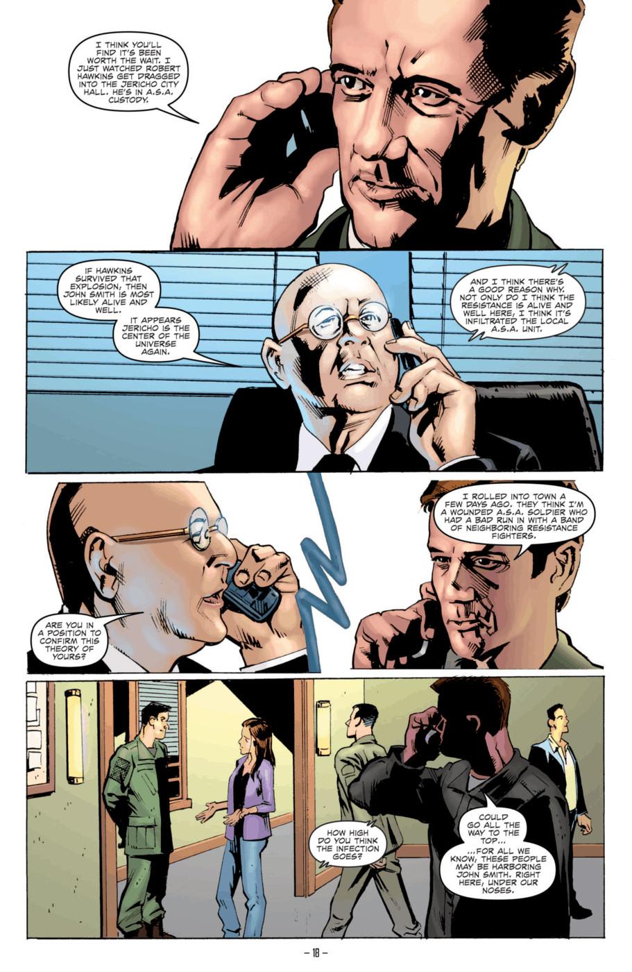 Read online Jericho Season 4 comic -  Issue #2 - 20