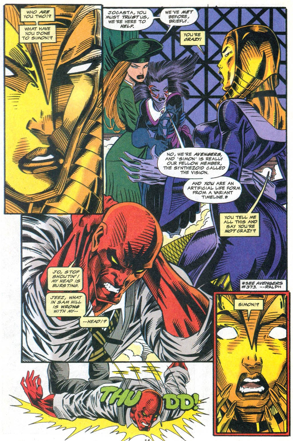 Read online The Vision comic -  Issue #2 - 11