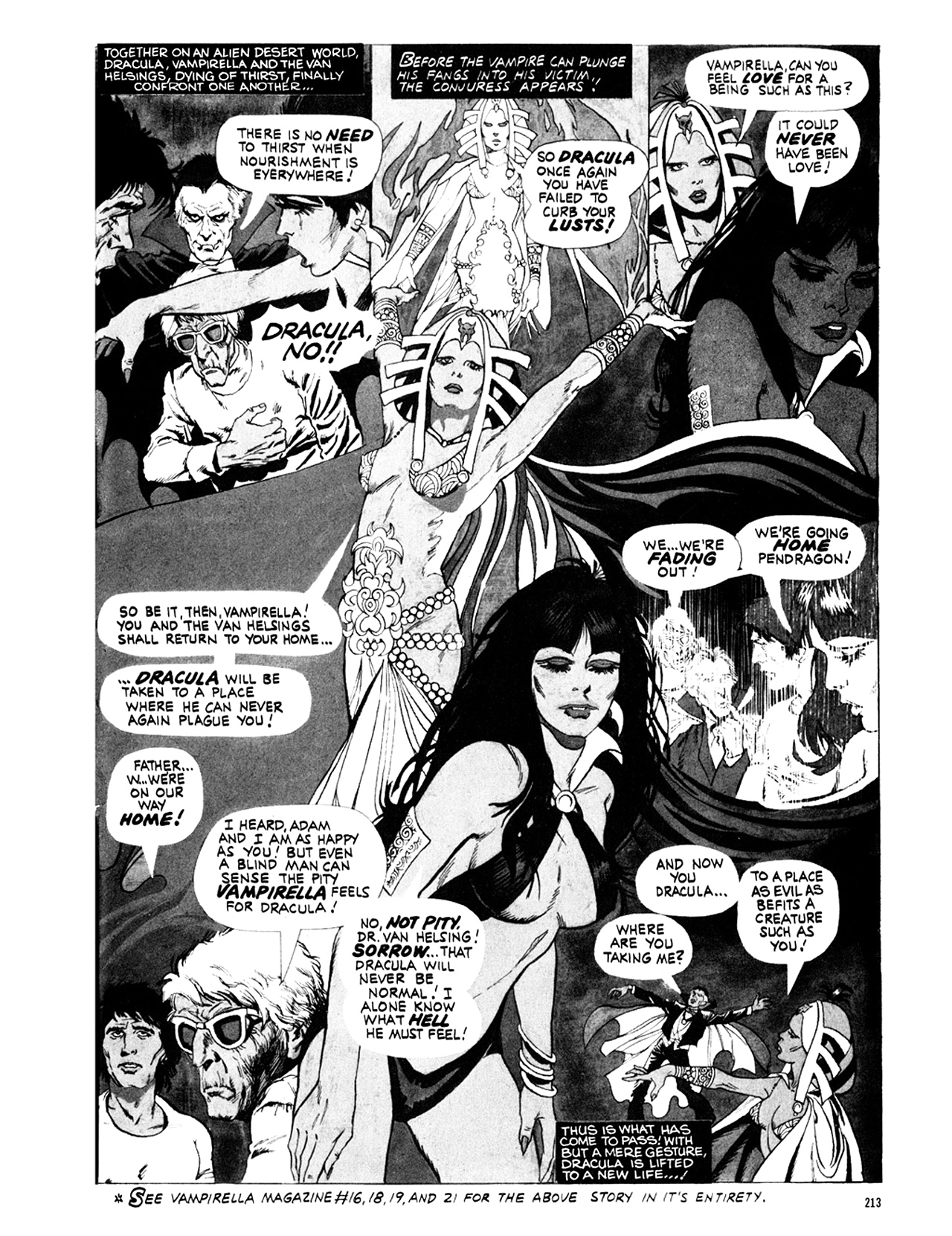 Read online Eerie Archives comic -  Issue # TPB 9 - 214