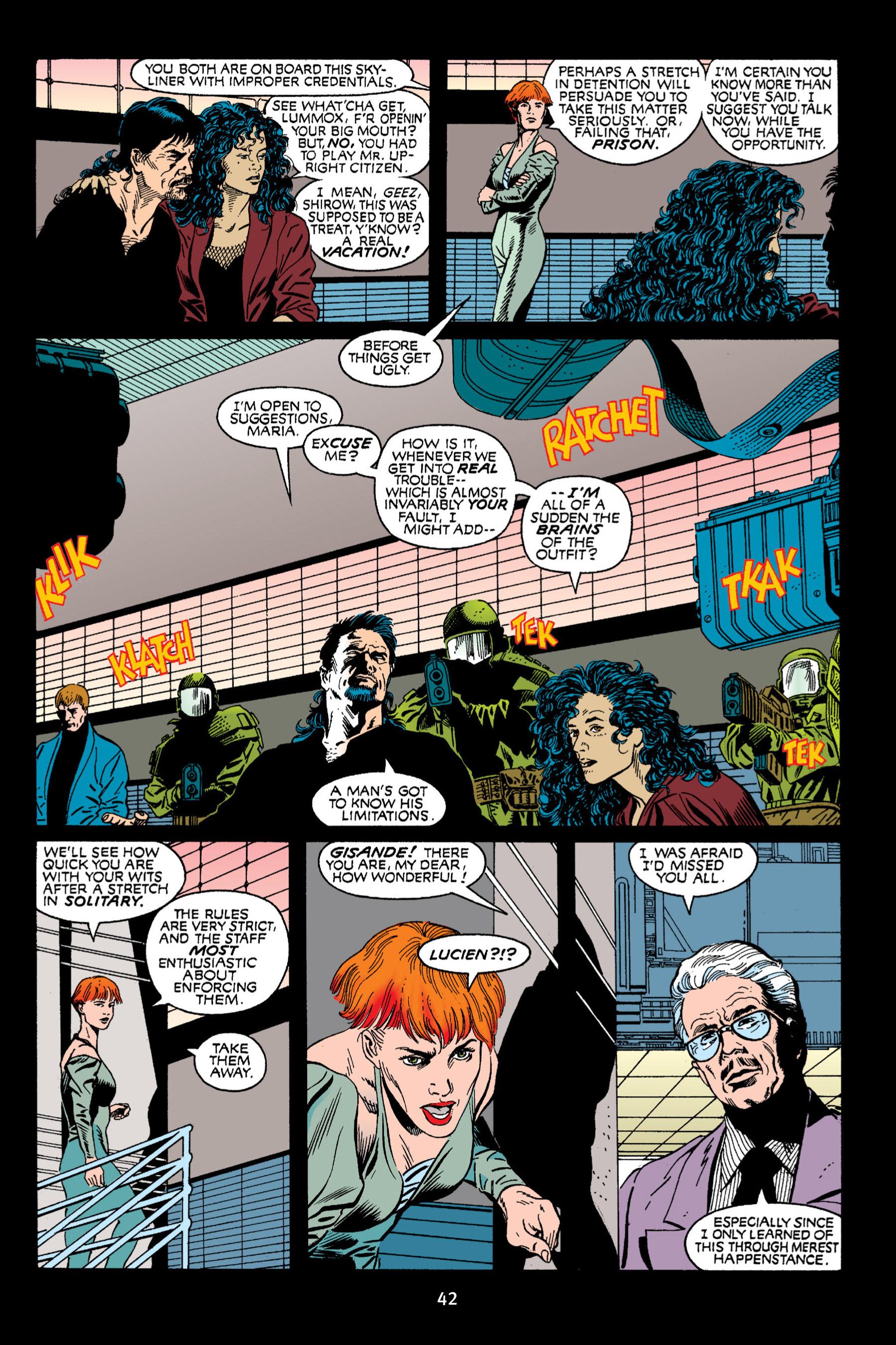 Read online Aliens vs. Predator Omnibus comic -  Issue # _TPB 2 Part 1 - 42