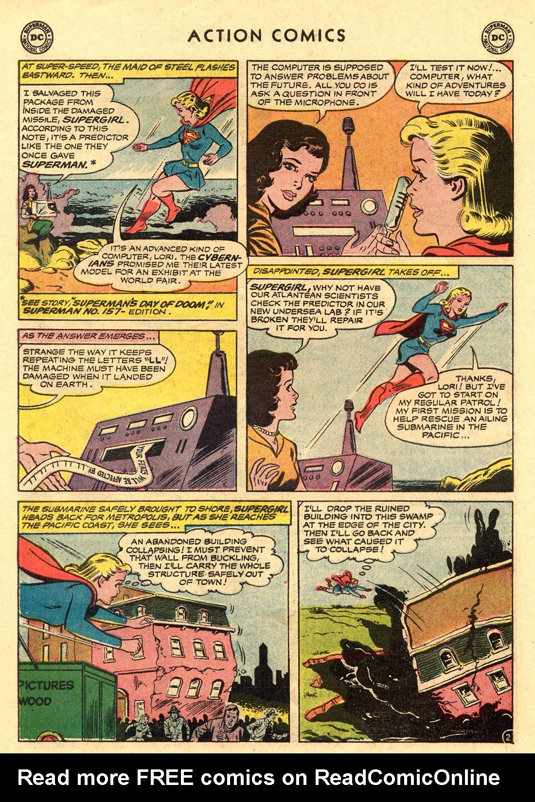 Read online Action Comics (1938) comic -  Issue #312 - 22