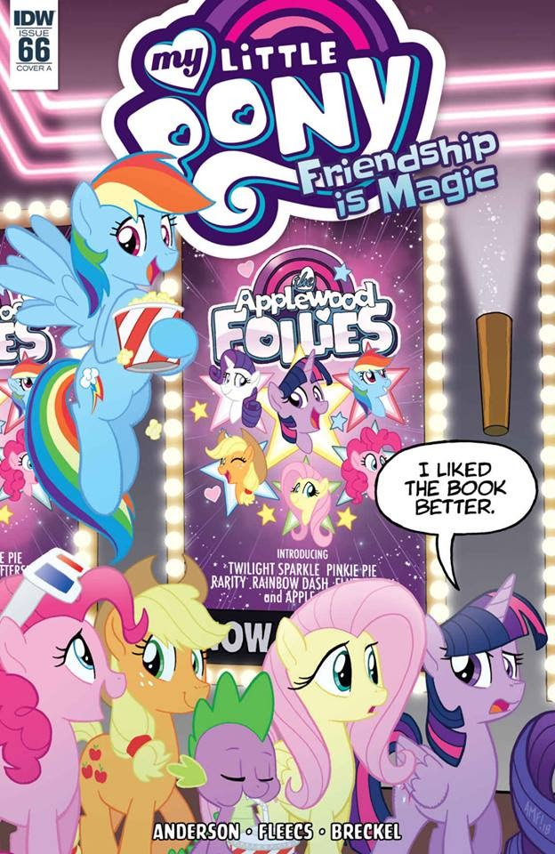 My Little Pony: Friendship is Magic issue 66 - Page 1