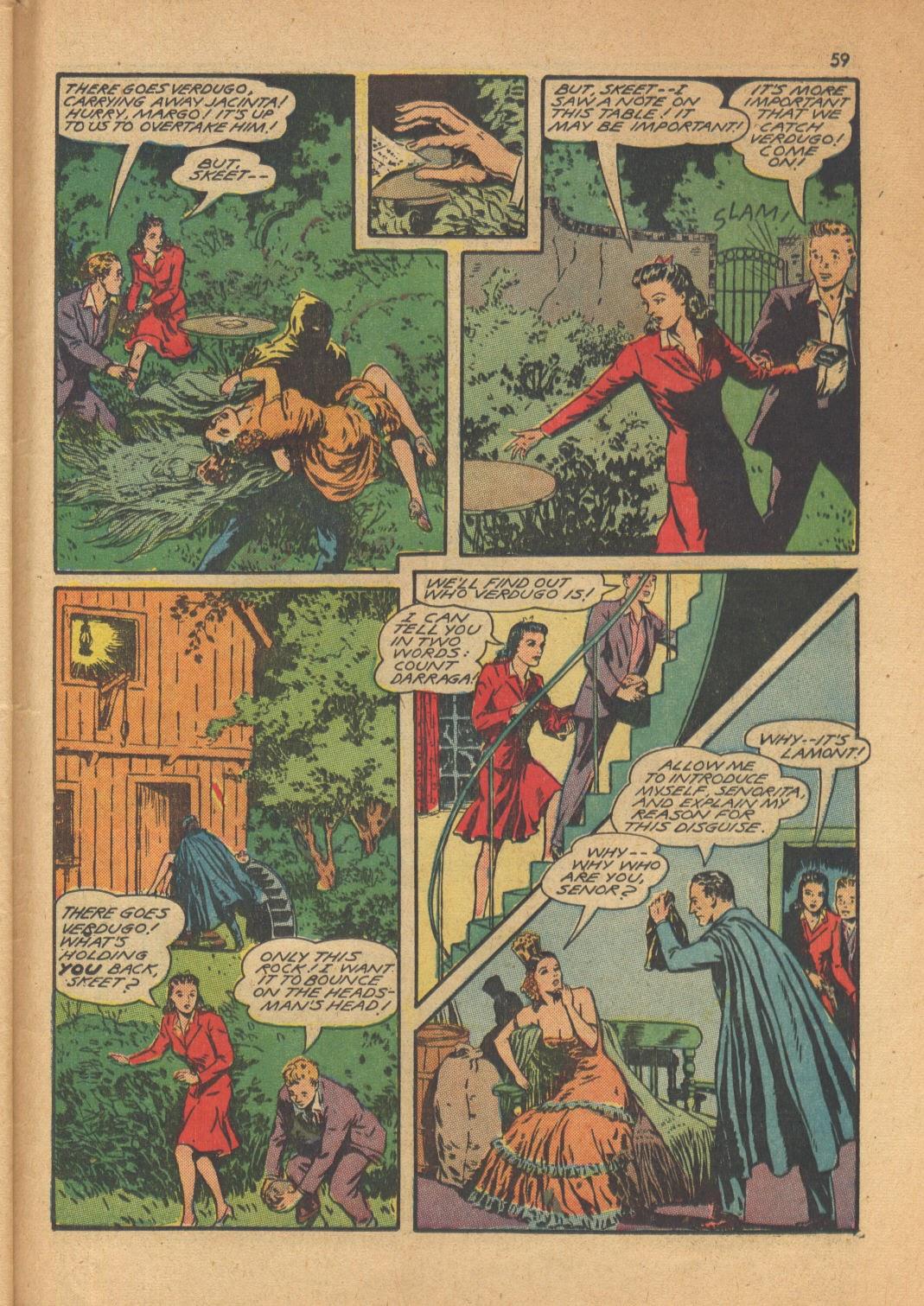Read online Super-Magician Comics comic -  Issue #13 - 59