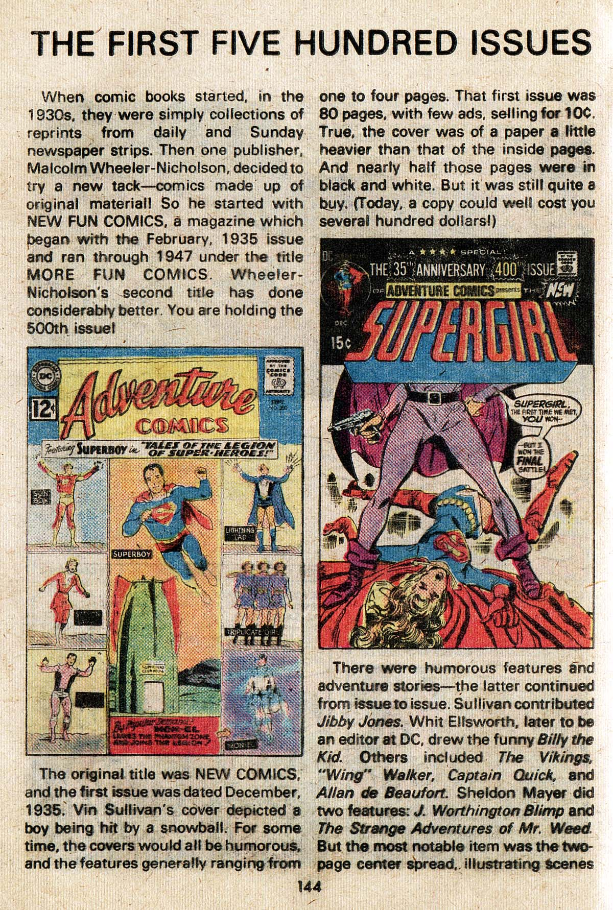 Read online Adventure Comics (1938) comic -  Issue #500 - 144
