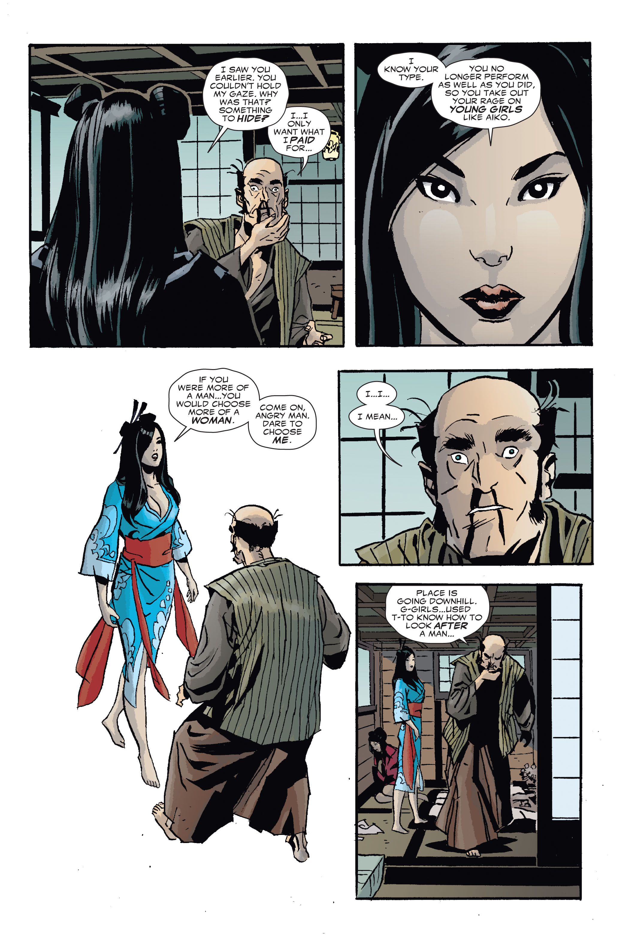 Read online 5 Ronin (2011) comic -  Issue #4 - 8
