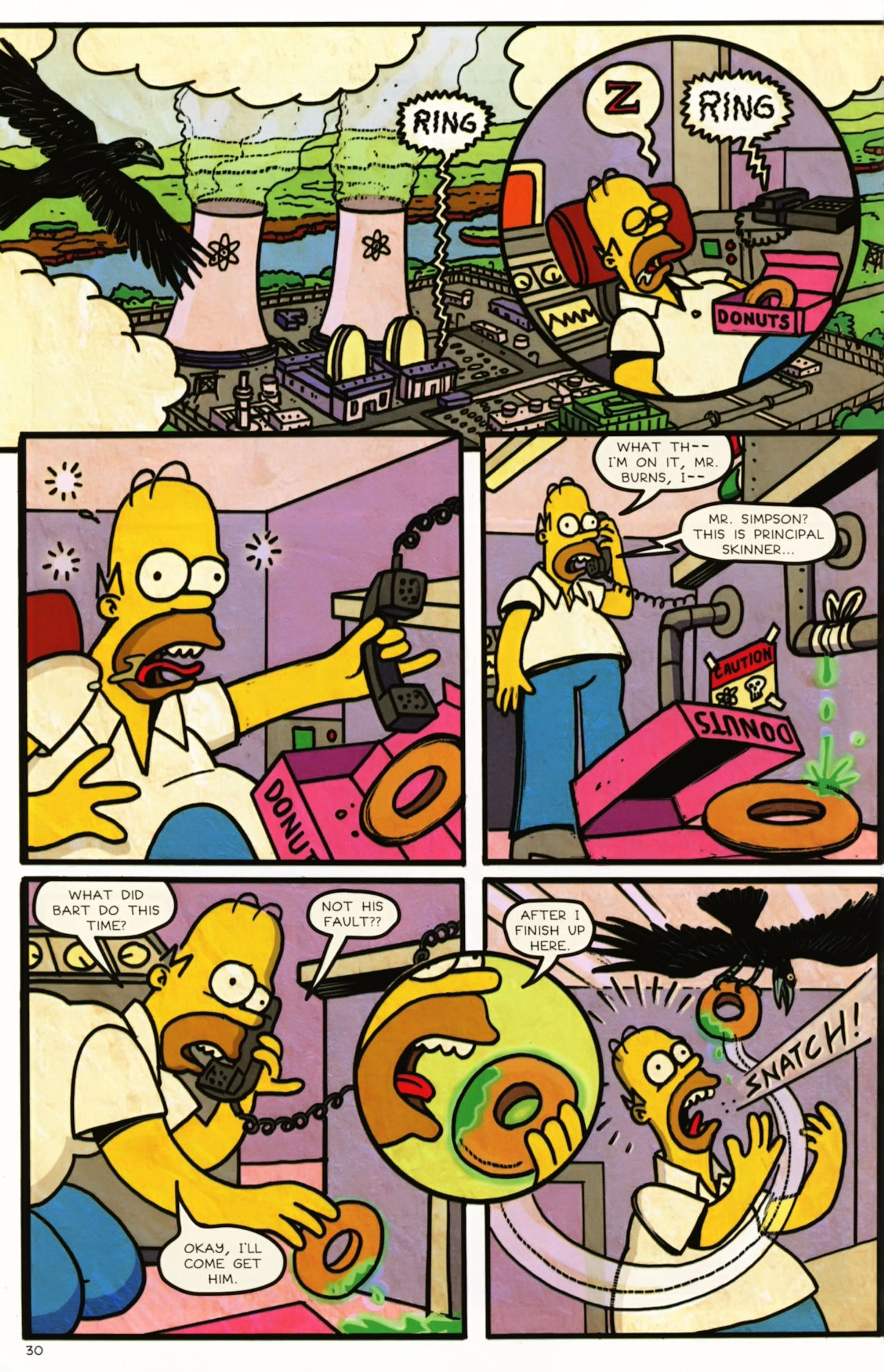 Read online Treehouse of Horror comic -  Issue #16 - 33