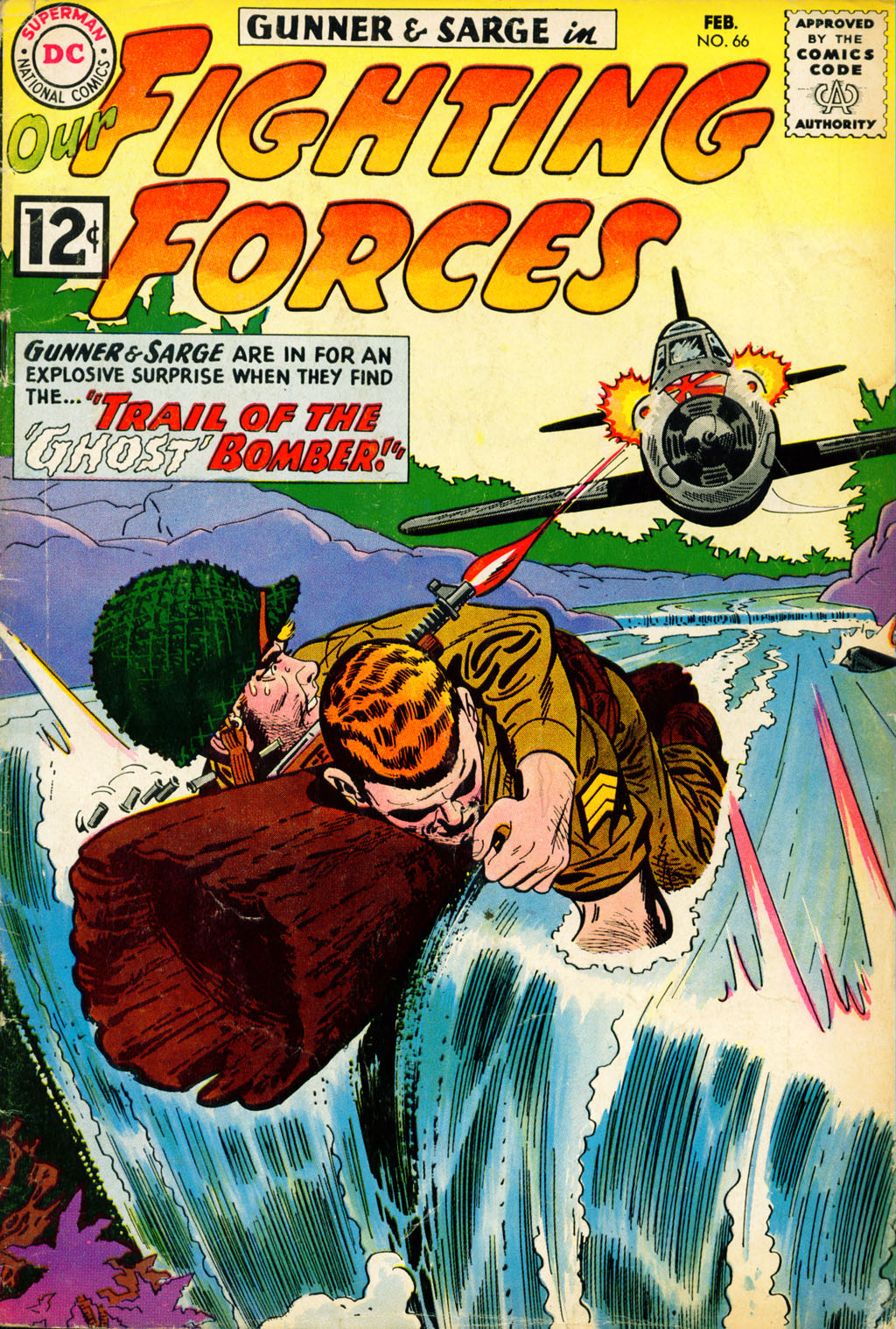 Our Fighting Forces (1954) issue 66 - Page 1