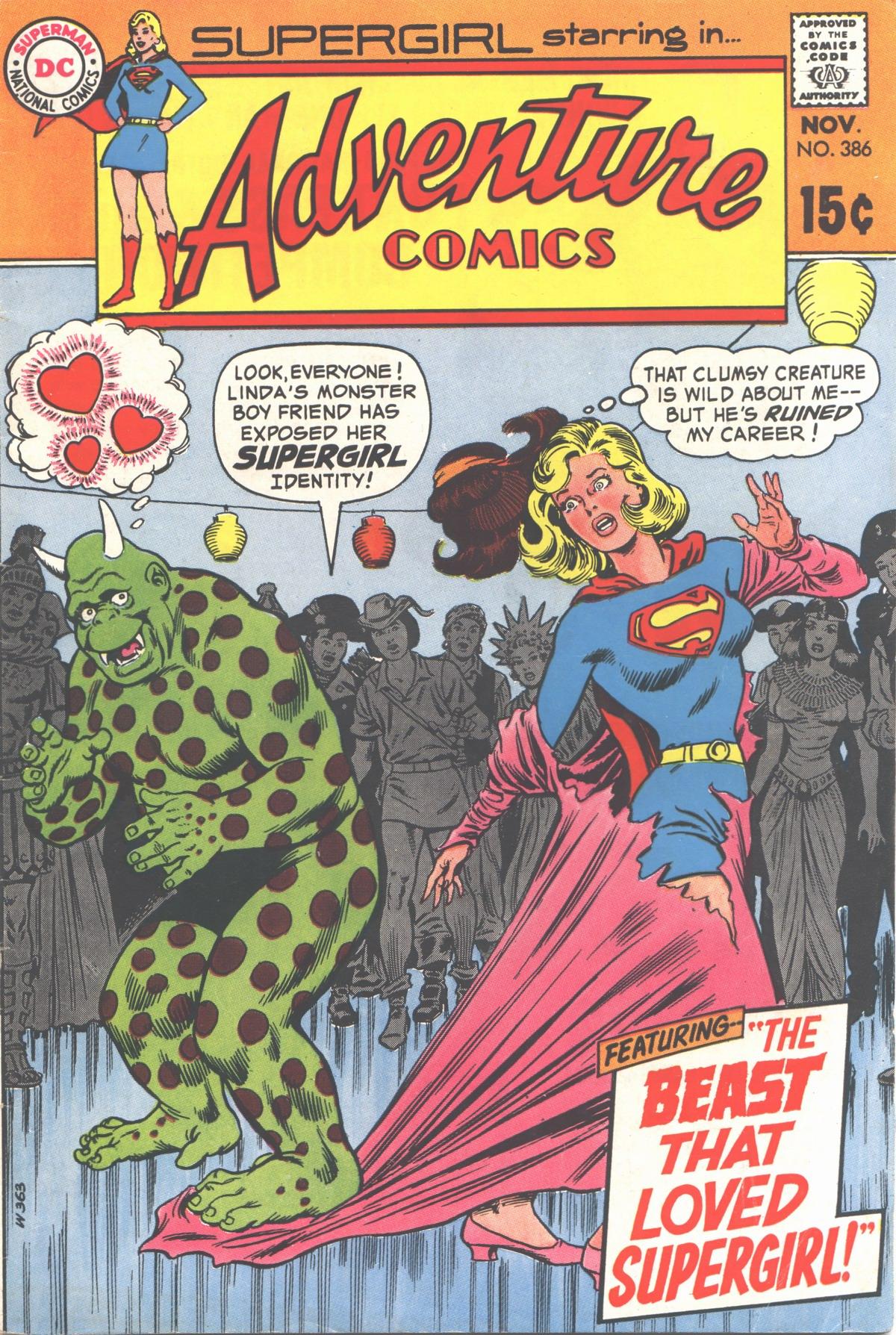 Read online Adventure Comics (1938) comic -  Issue #386 - 1