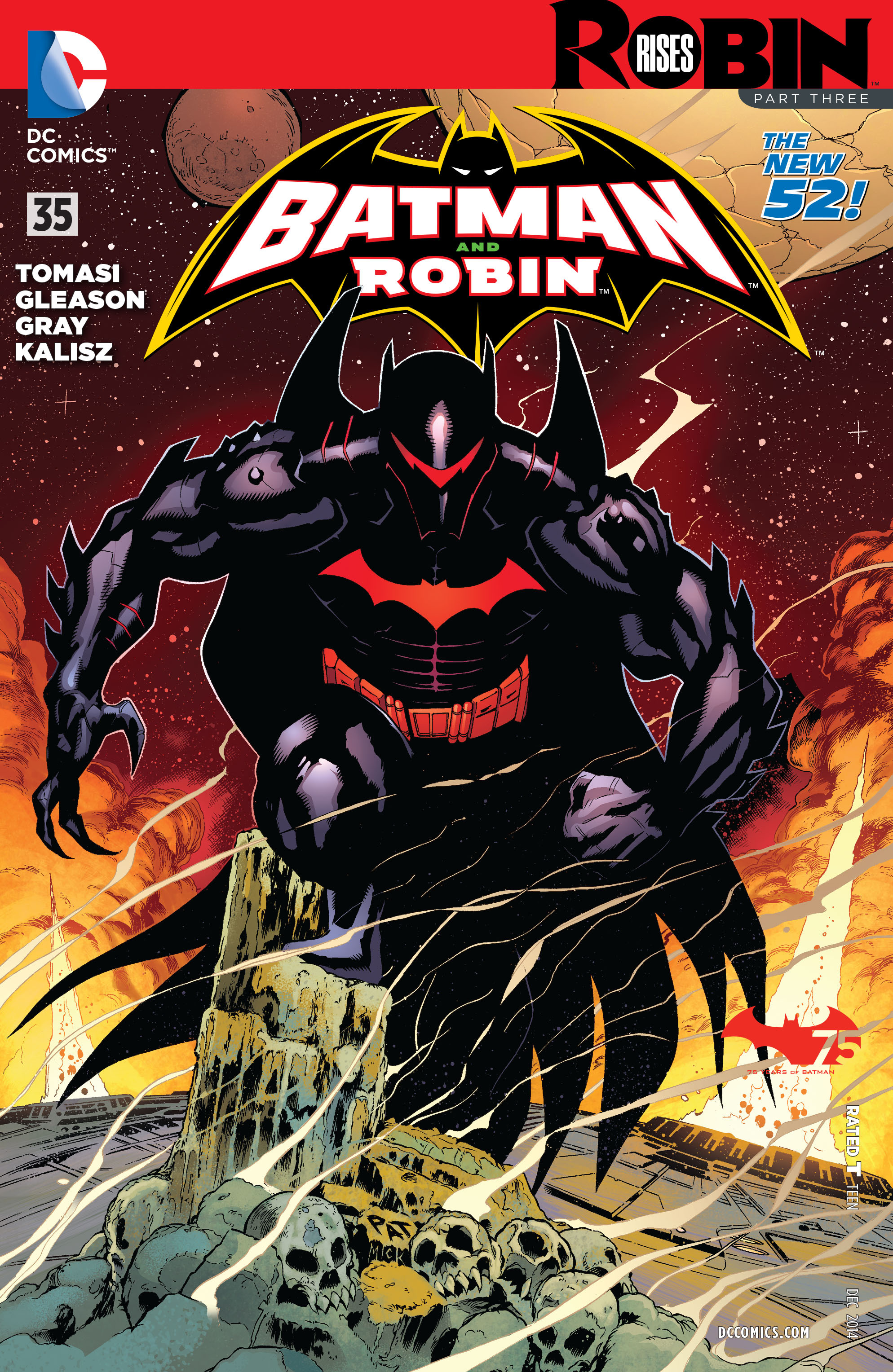 Read online Batman and Robin (2011) comic -  Issue #35 - 1