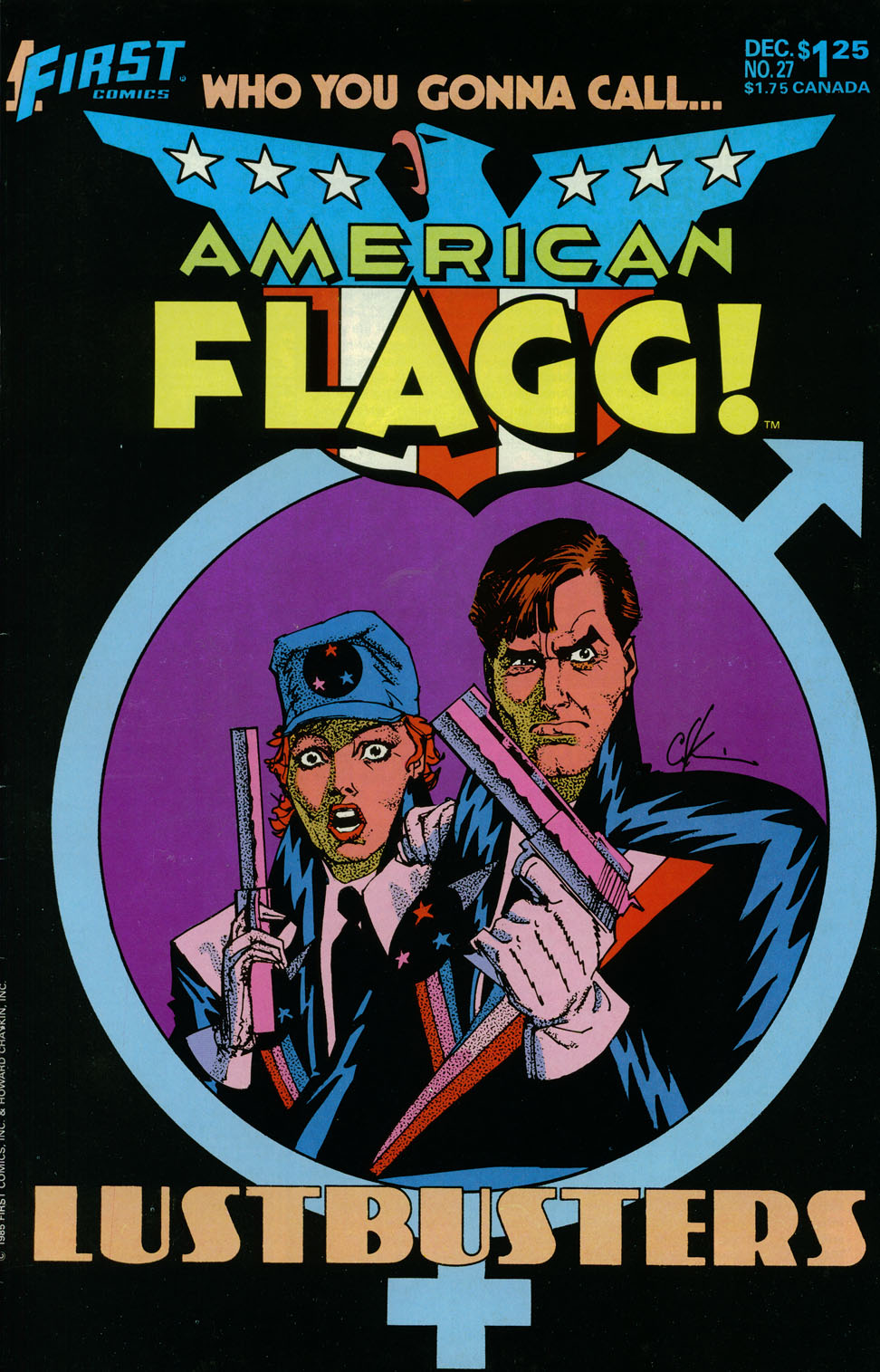 Read online American Flagg! comic -  Issue #27 - 1