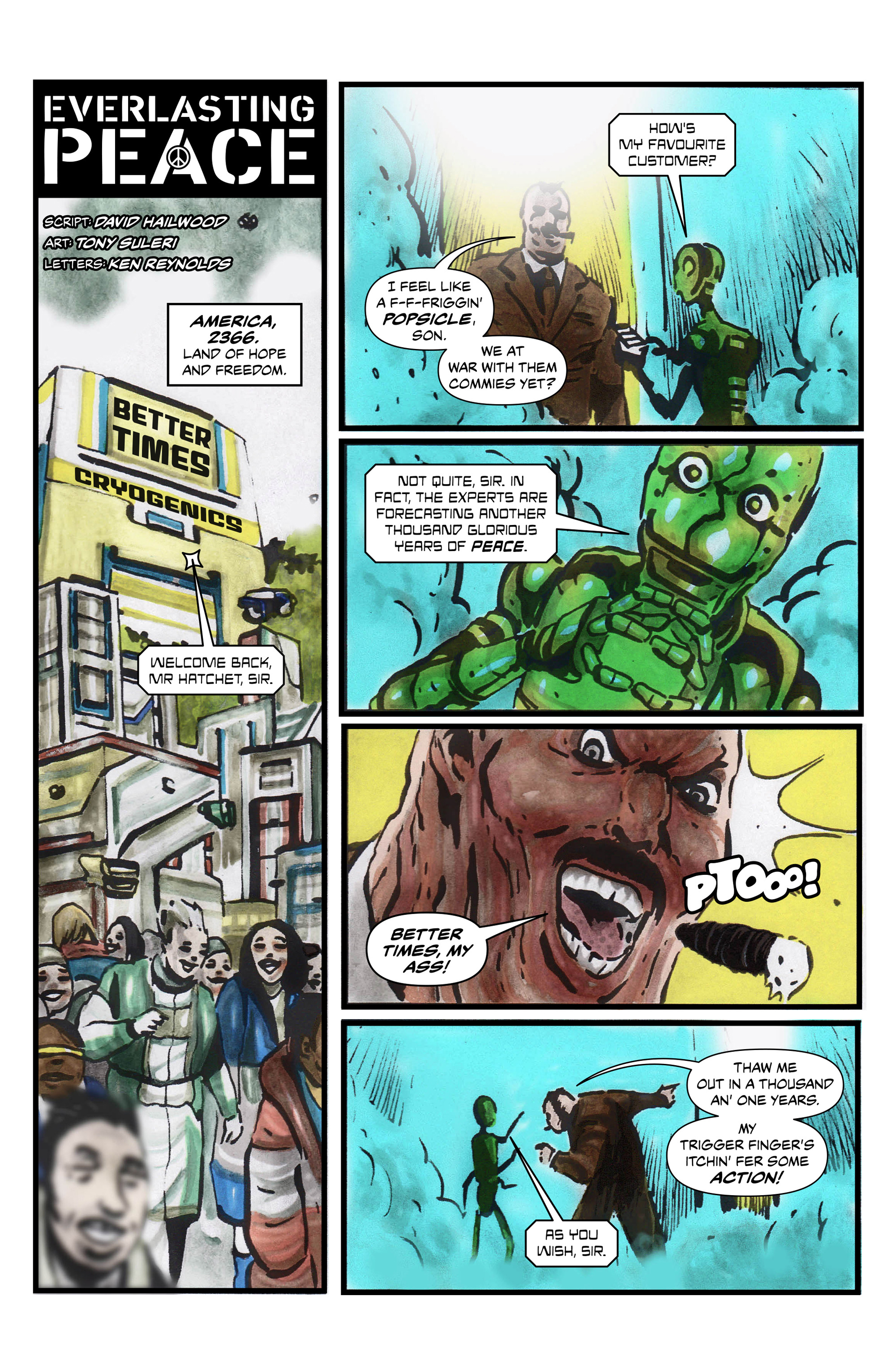 Read online 100% Biodegradable comic -  Issue #13 - 23