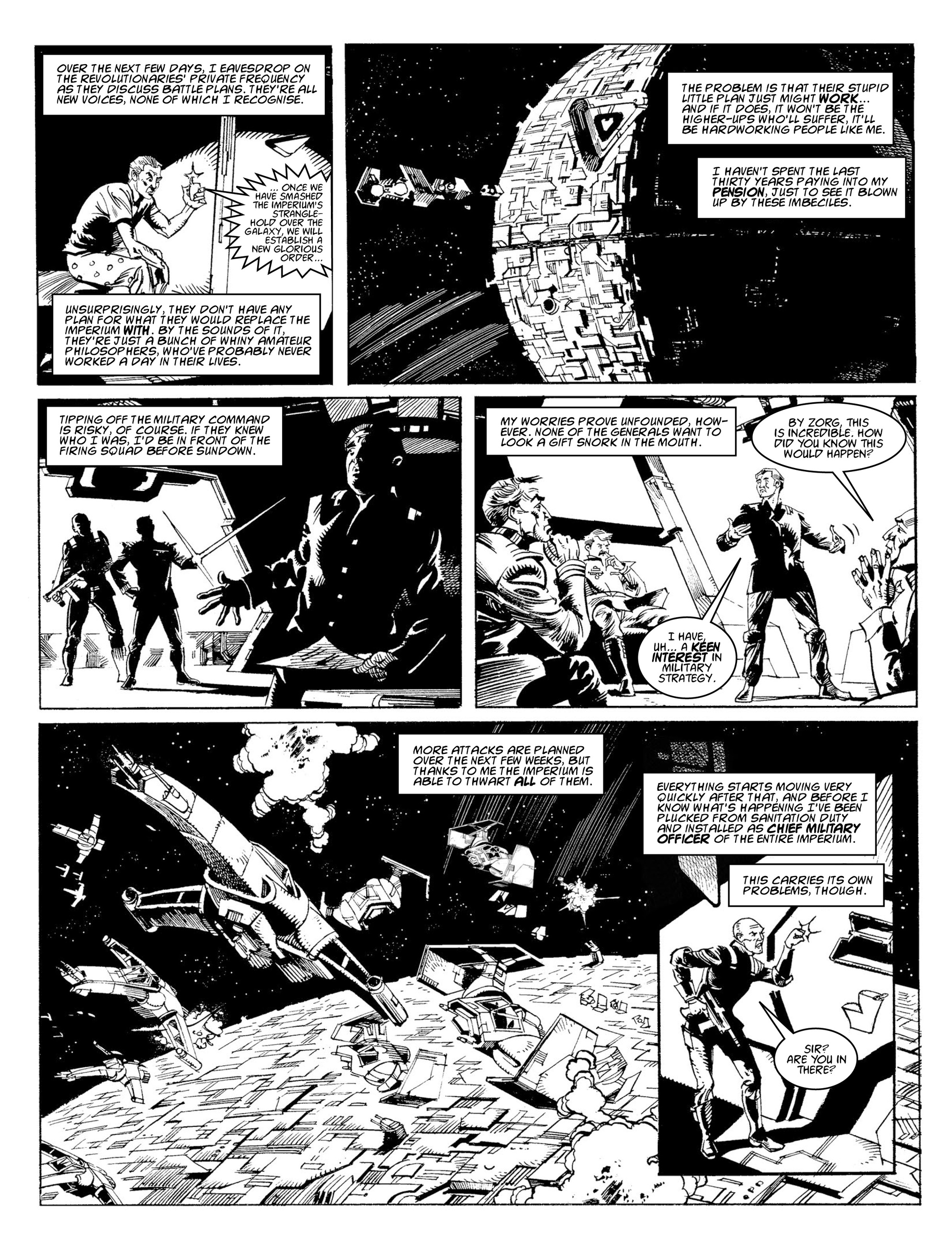 Read online 2000 AD comic -  Issue #2009 - 21