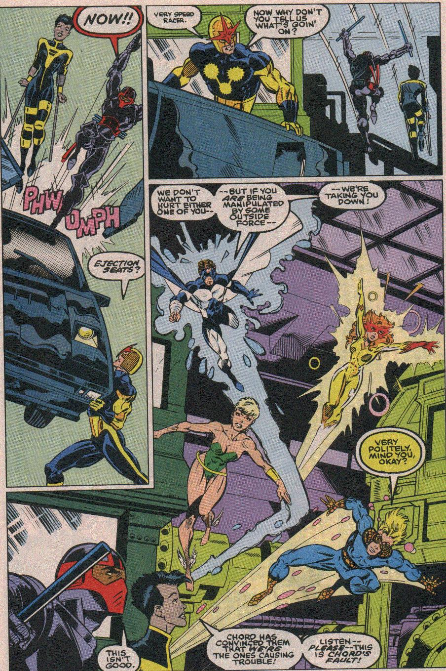 The New Warriors Issue #18 #22 - English 20