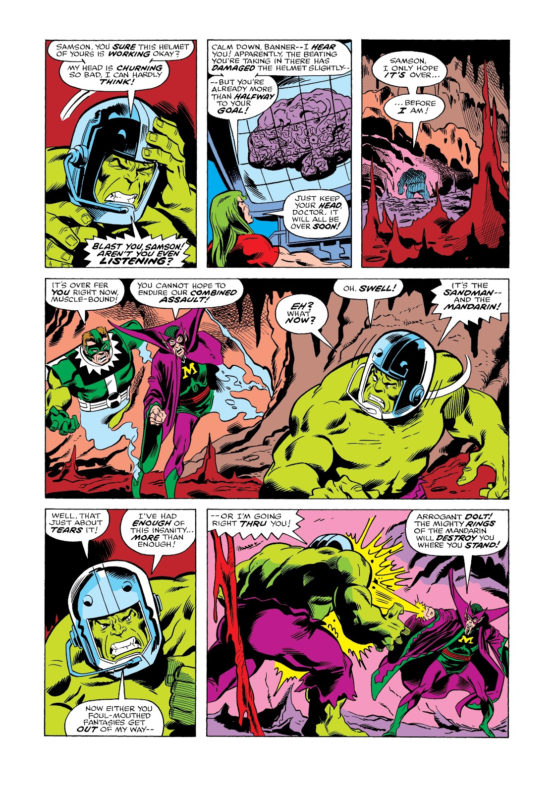 Read online Marvel Masterworks: The Incredible Hulk comic -  Issue # TPB 12 (Part 2) - 9