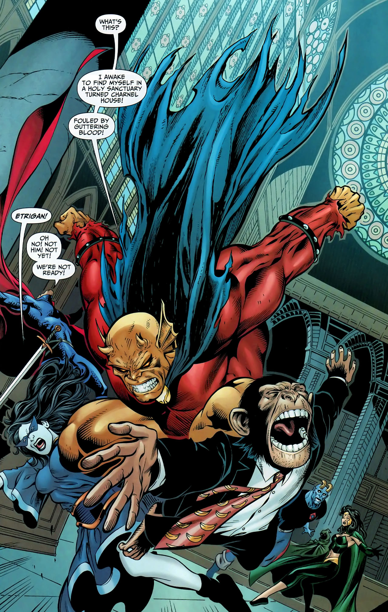 Read online Shadowpact comic -  Issue #9 - 12
