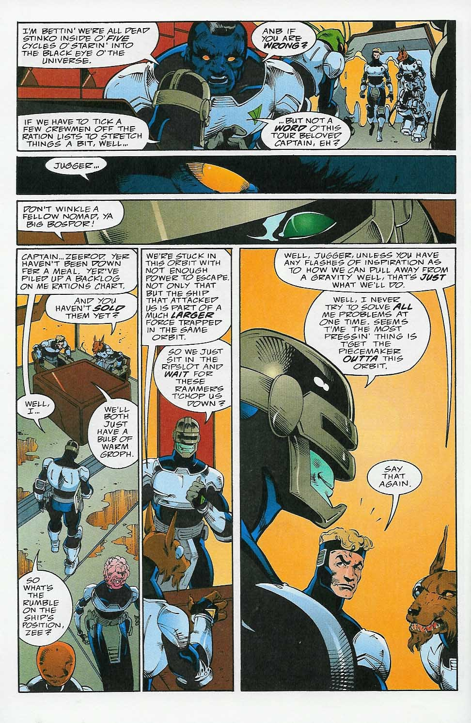 Alien Legion: On the Edge issue 2 - Page 9