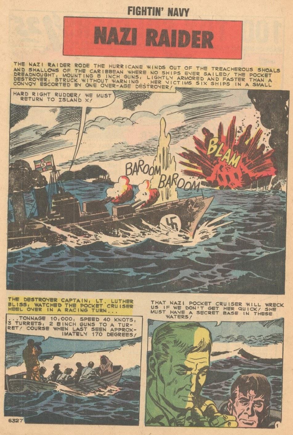 Read online Fightin' Navy comic -  Issue #93 - 16