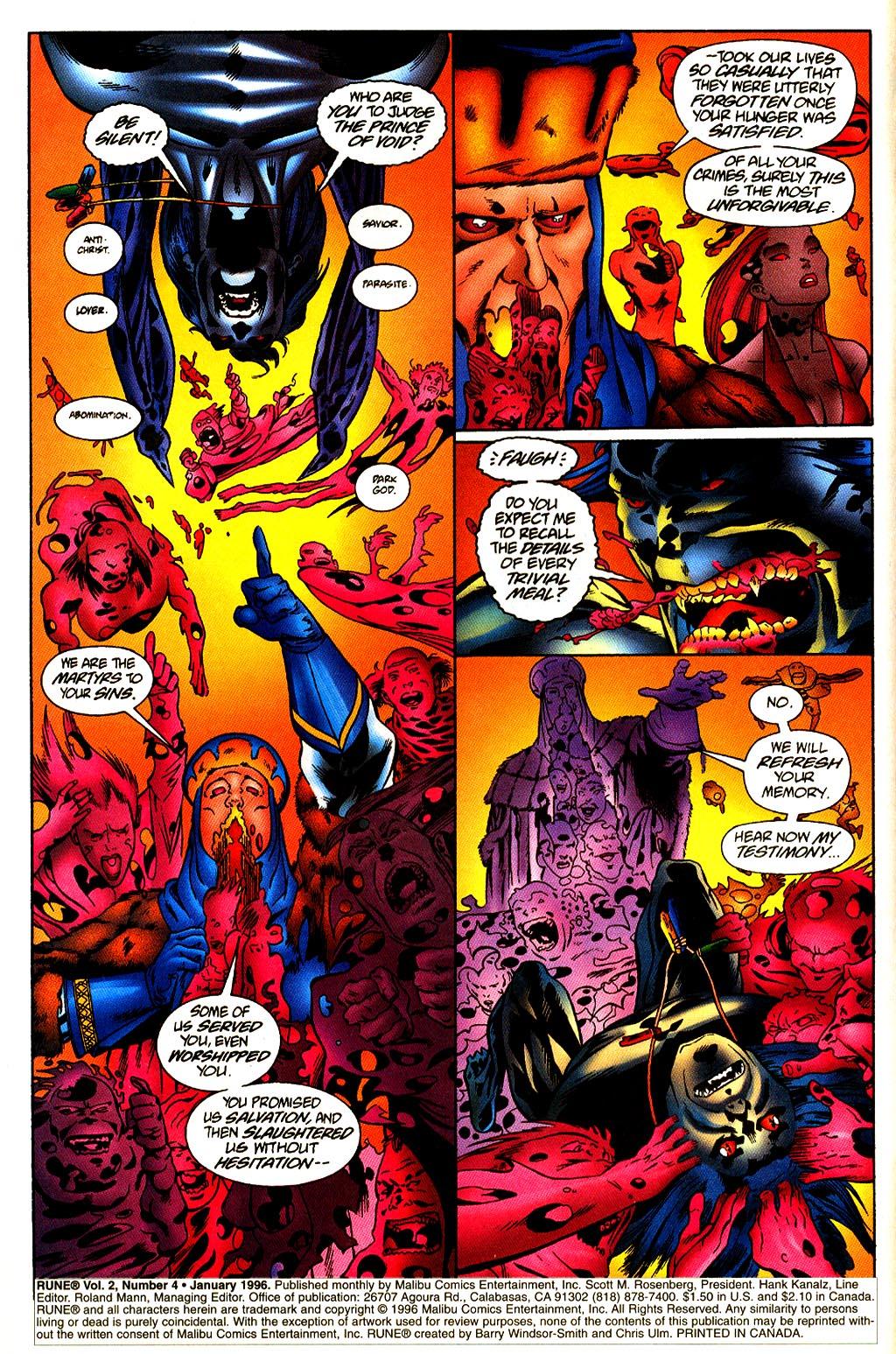 Read online Rune (1995) comic -  Issue #4 - 3