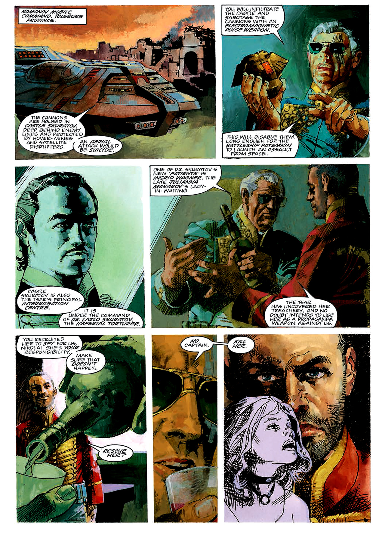 Read online Nikolai Dante comic -  Issue # TPB 4 - 24