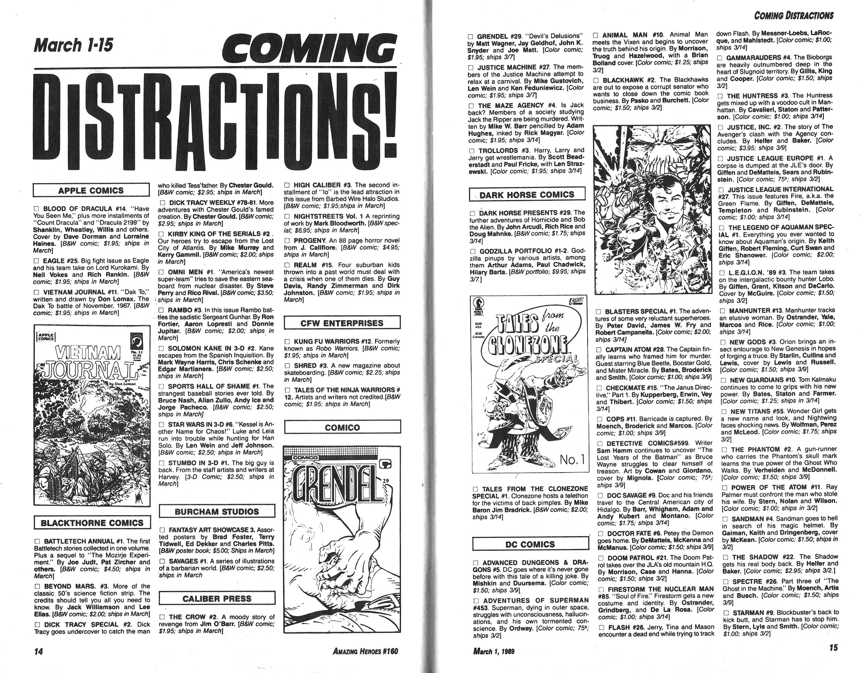 Read online Amazing Heroes comic -  Issue #160 - 8
