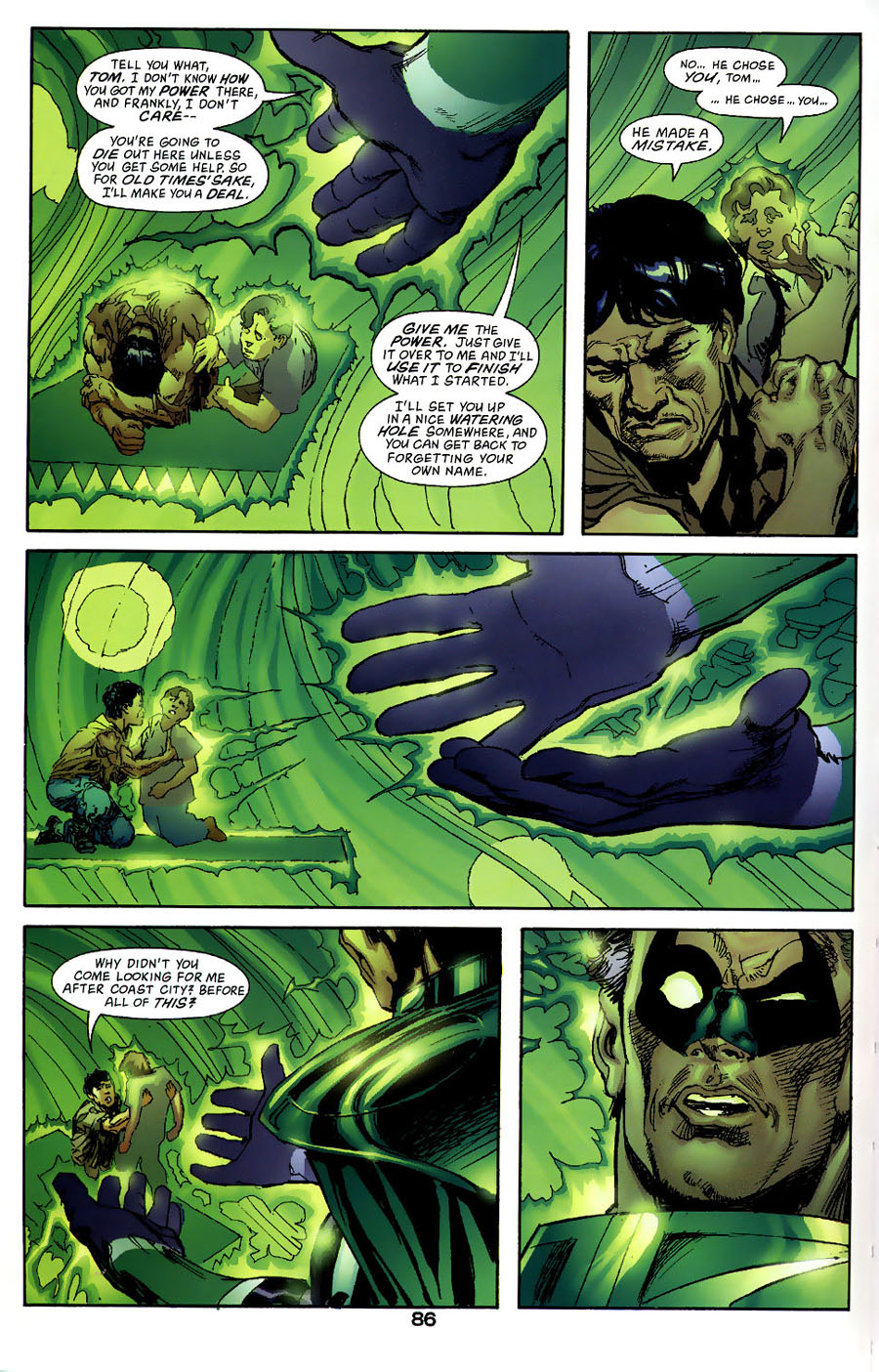 Read online Green Lantern: Legacy: The Last Will and Testament of Hal Jordan comic -  Issue # TPB - 92