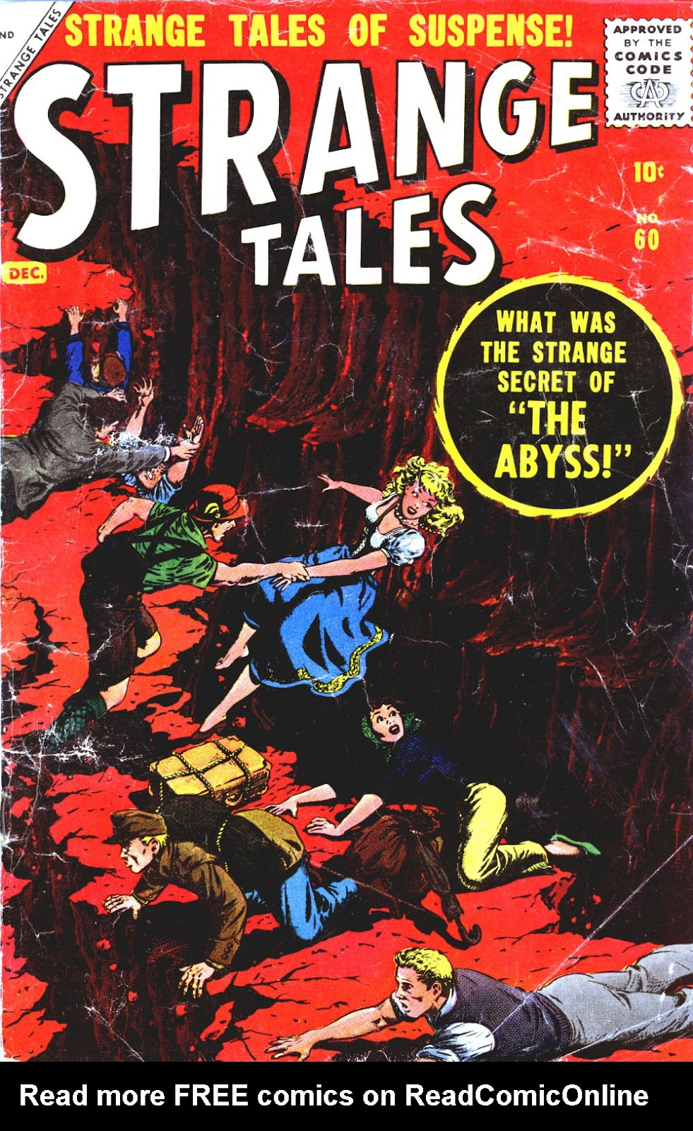Strange Tales (1951) issue 60 - Page 1