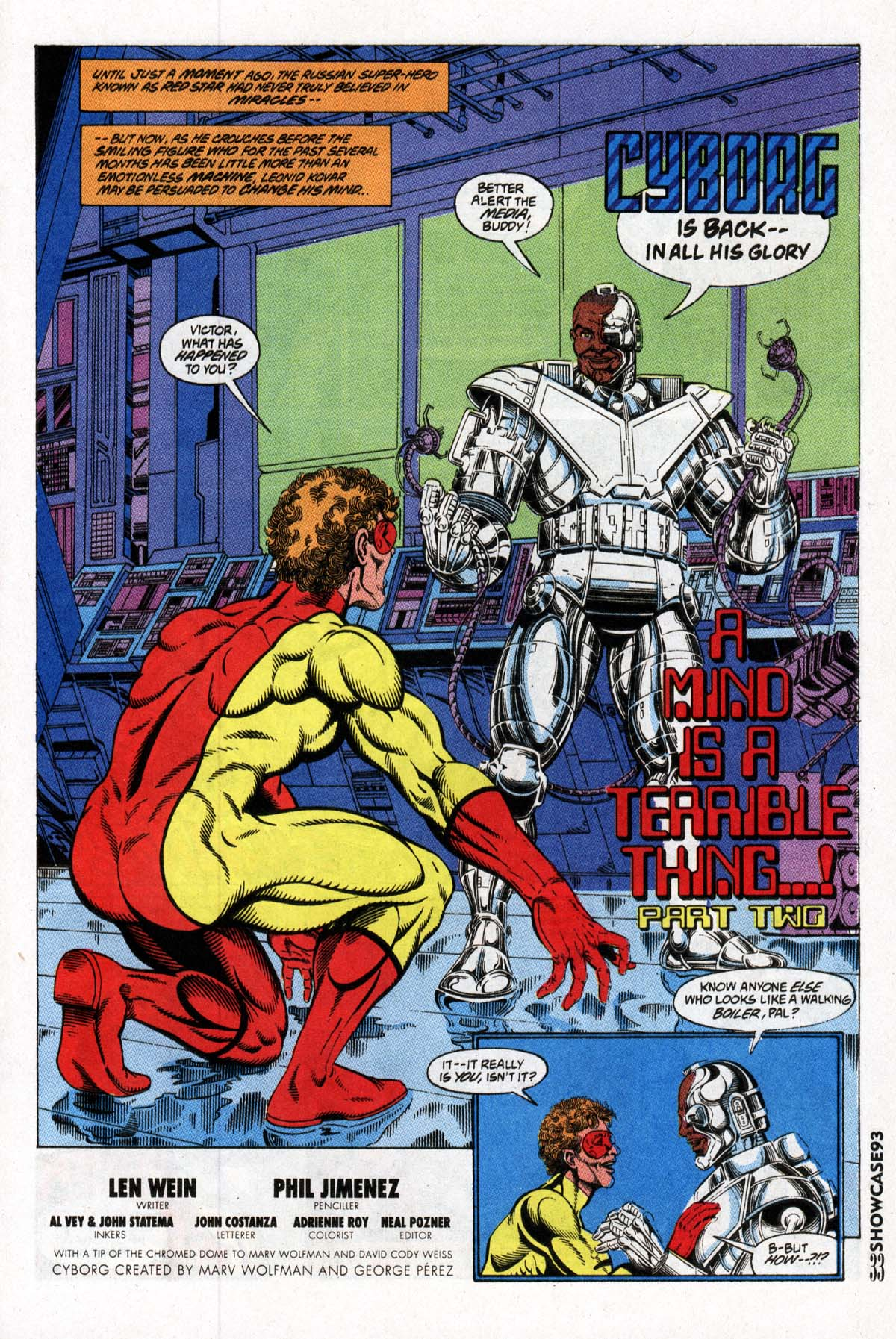 Read online Showcase '93 comic -  Issue #2 - 34