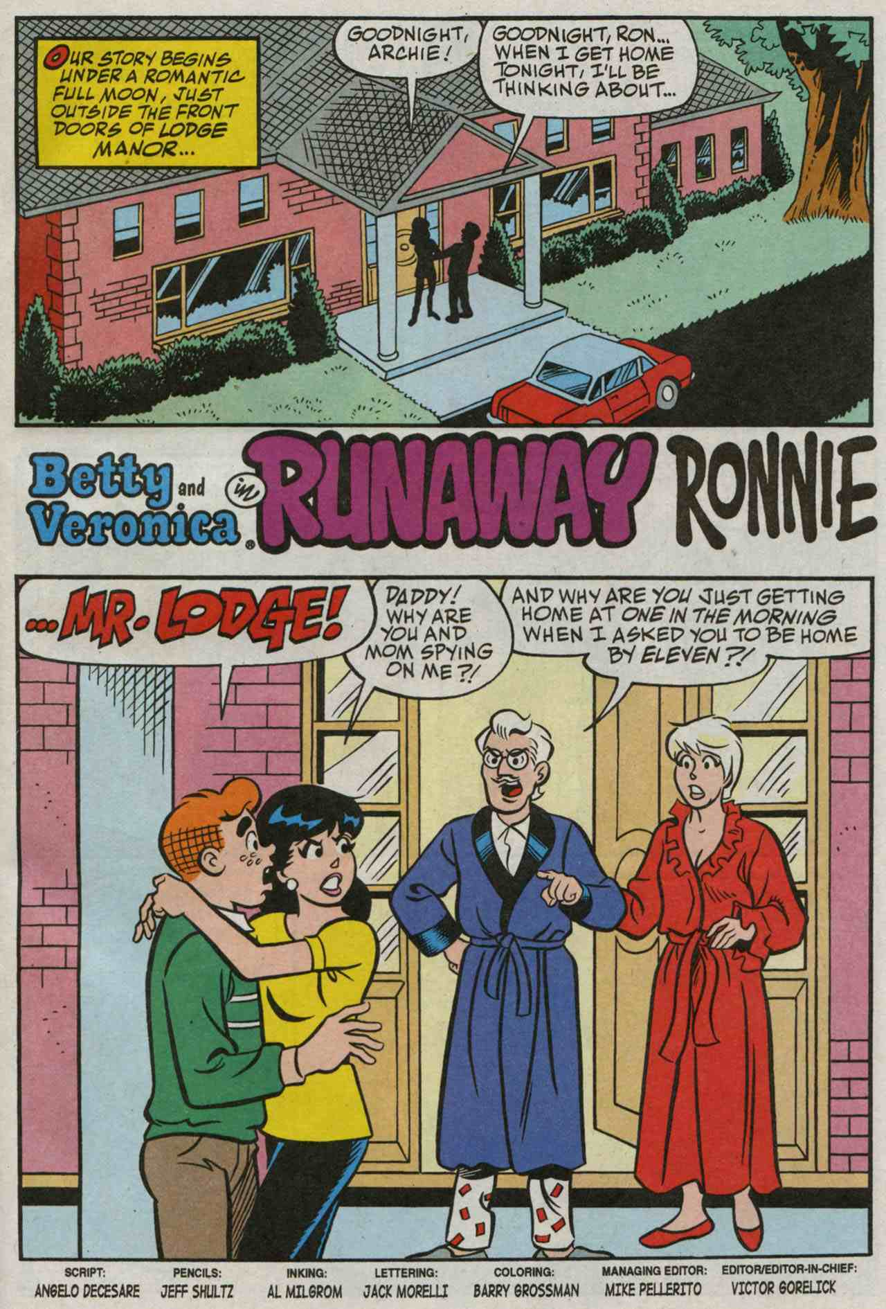 Read online Archie's Girls Betty and Veronica comic -  Issue #235 - 2