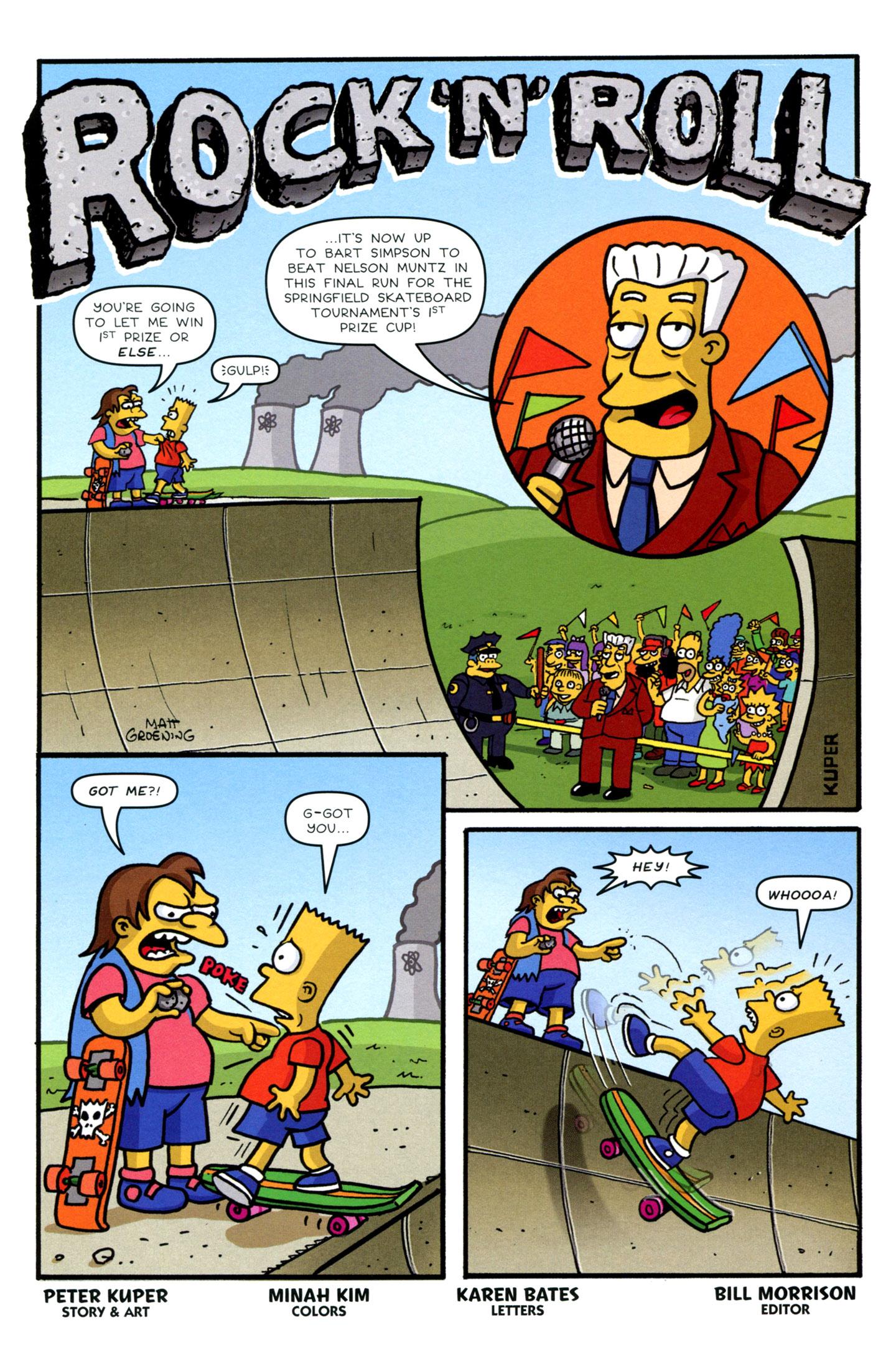 Read online Simpsons Comics Presents Bart Simpson comic -  Issue #72 - 19