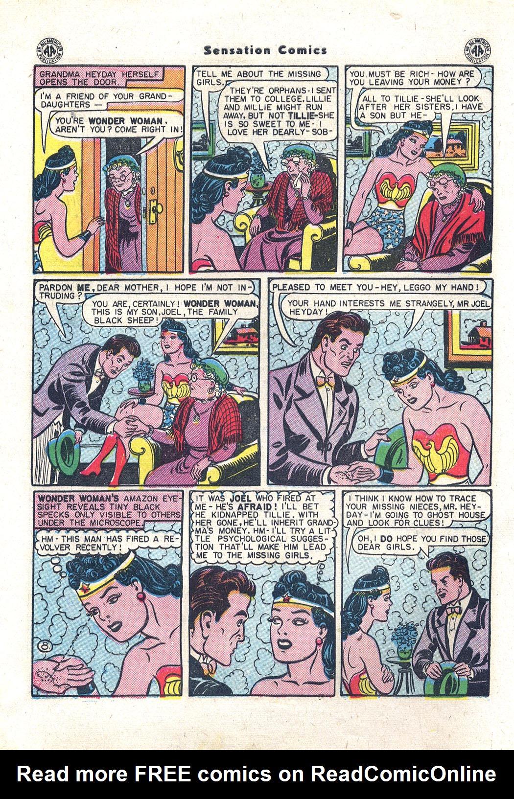 Read online Sensation (Mystery) Comics comic -  Issue #43 - 9
