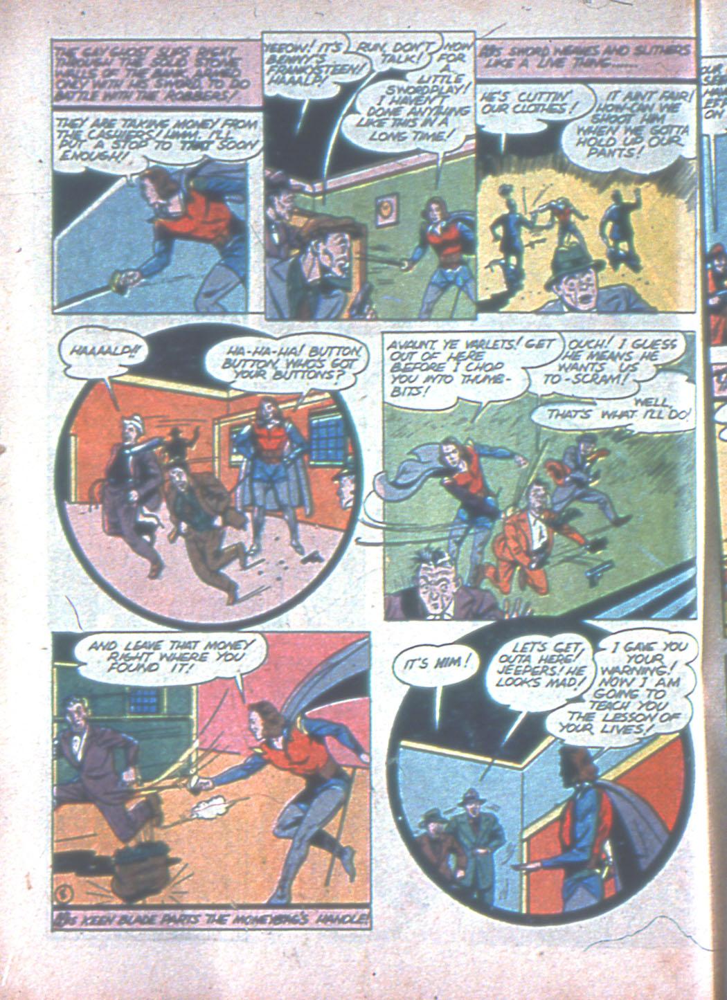 Read online Sensation (Mystery) Comics comic -  Issue #3 - 40